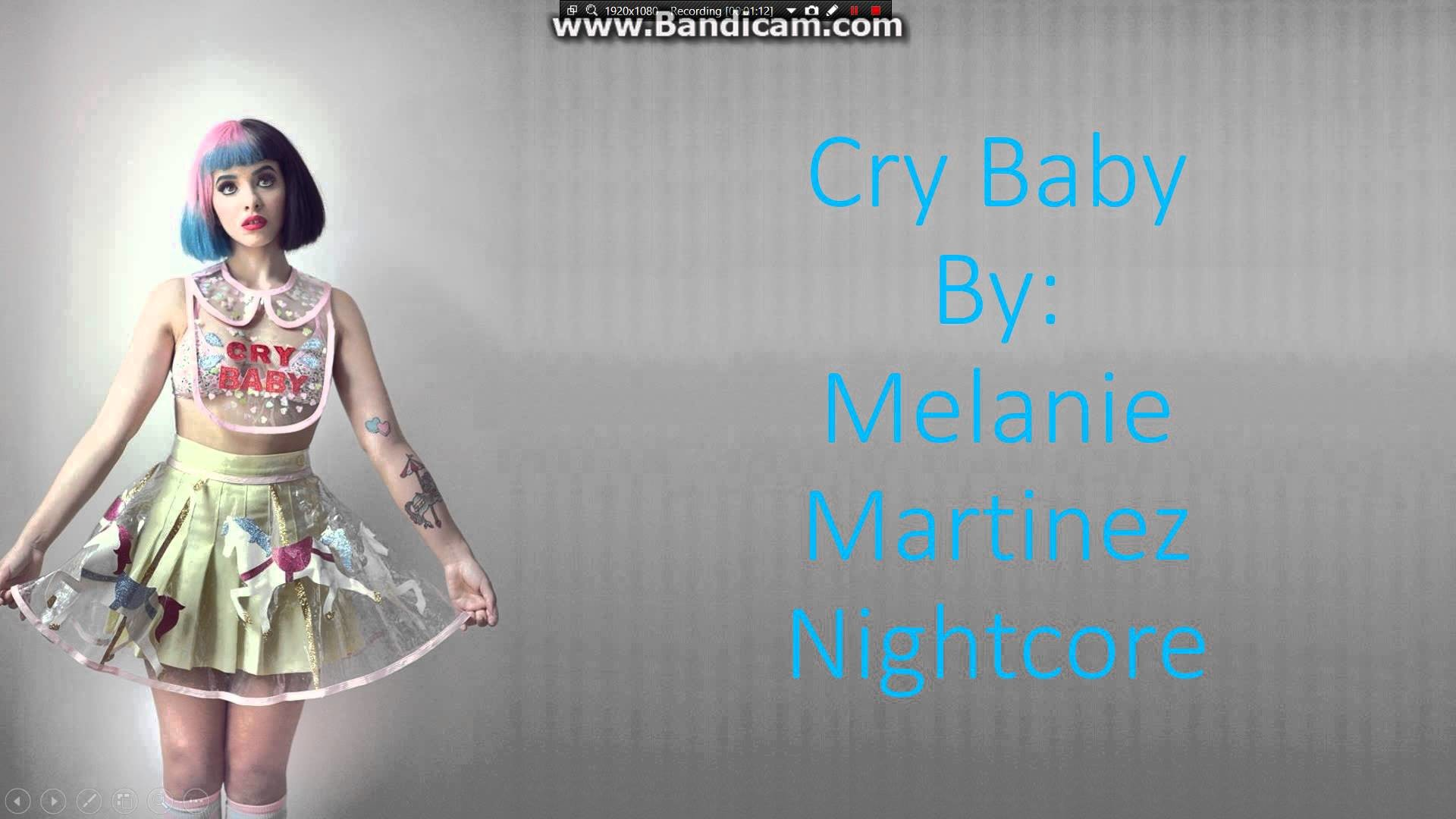 Melanie Martinez- Cry Baby Nightcore