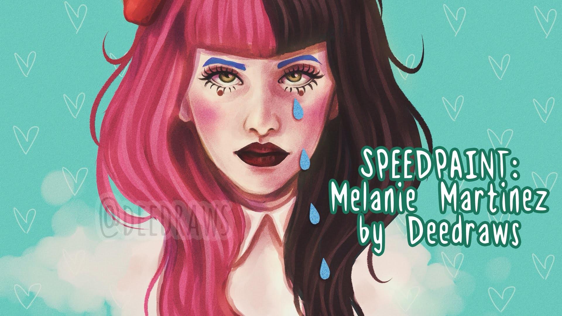 [SPEEDPAINT] Melanie Martinez Cry Baby Fanart – YouTube