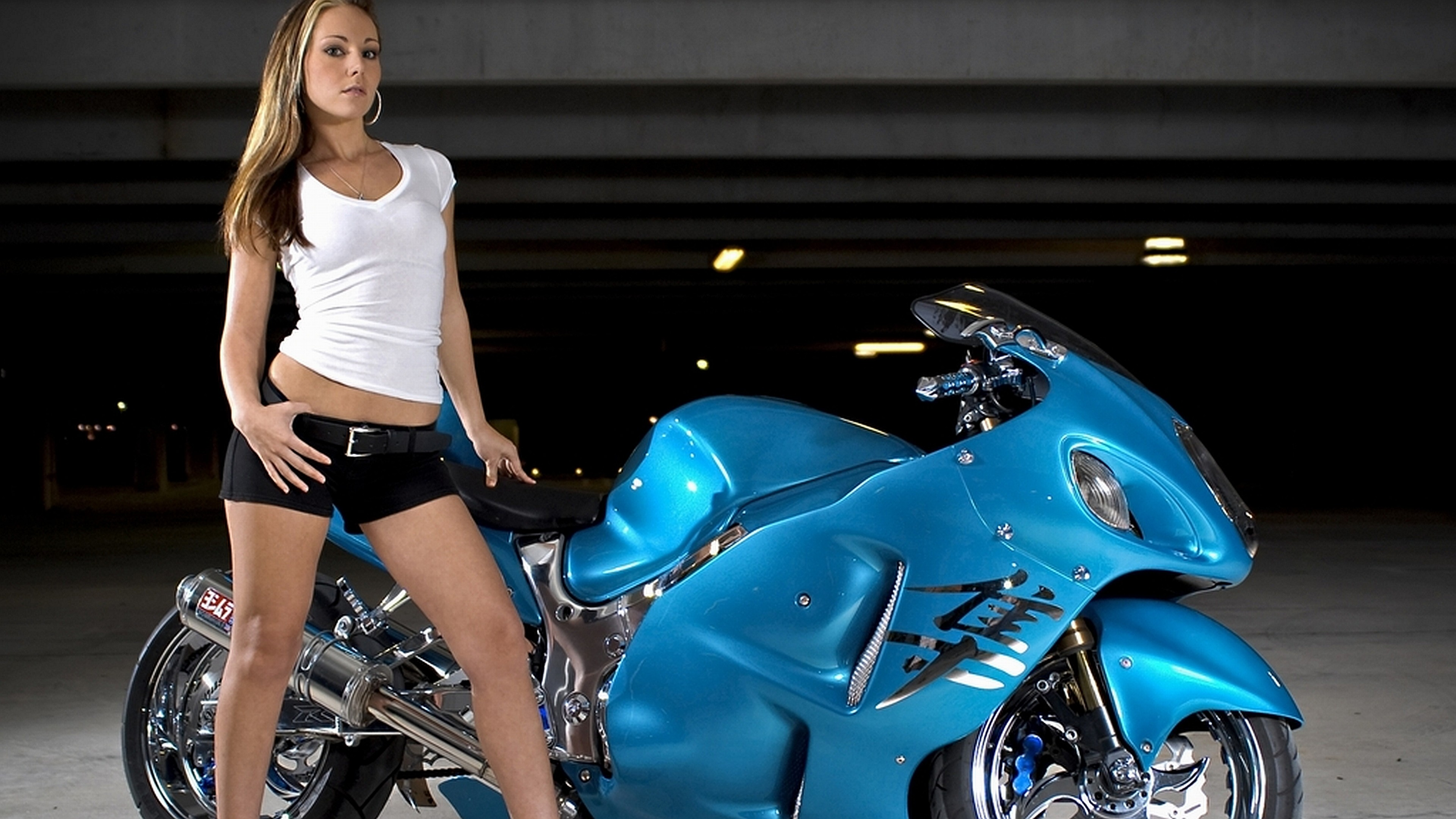 girls and motorcycles Wallpaper Background   44641