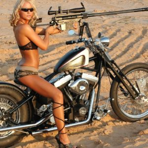 Chopper Girls Motorcycle