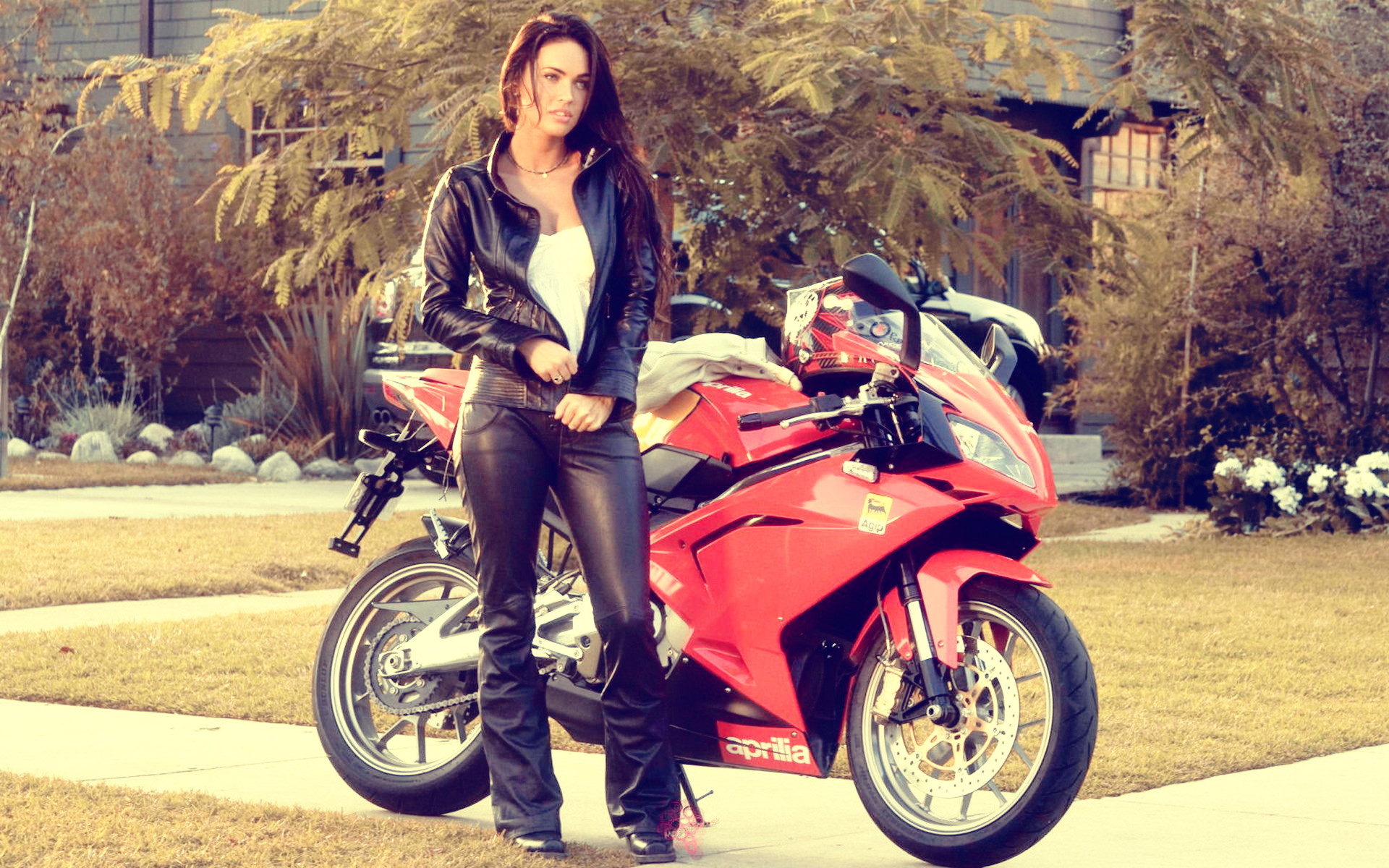Download Girl With Bike Wallpaper Gallery