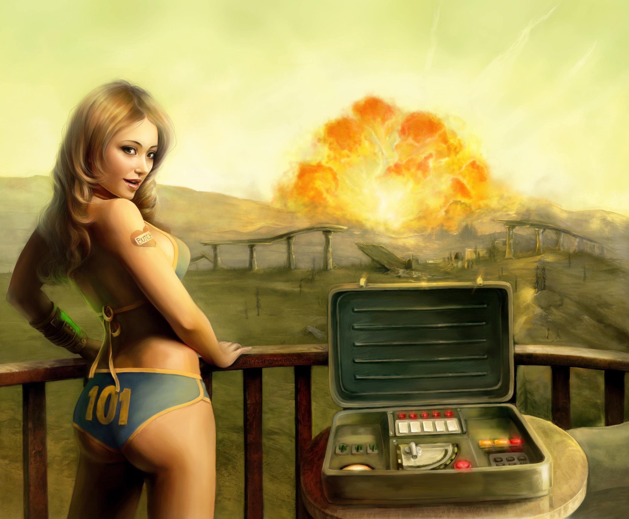 Fallout 3 sexy wallpaper