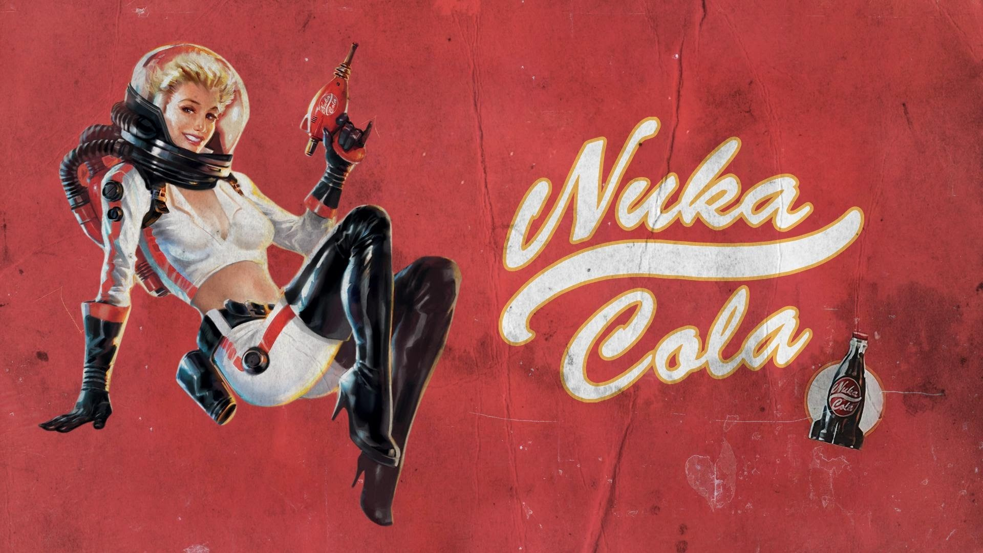 General Nuka Cola pinup models vault girl Fallout 4 video games