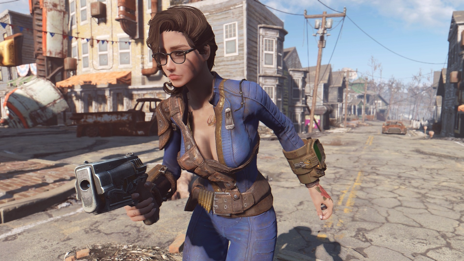 Unzipped Vault Suit – CBBE – Bodyslide – AWKCR at Fallout 4 Nexus – Mods  and community