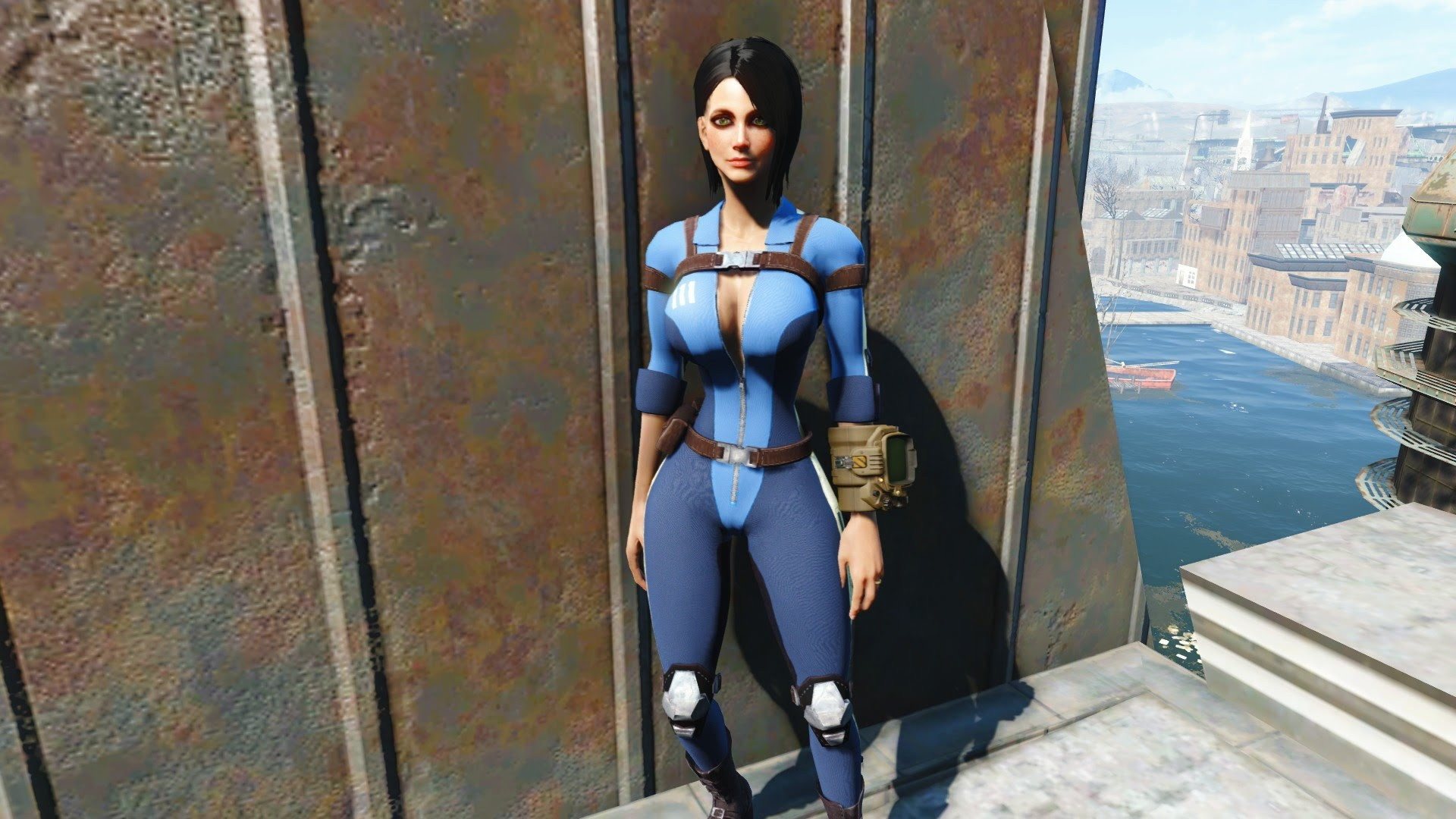 """Fallout 4: Mod Review #8 """"Slooty Vault Suit"""" (Xbox One Mods)"""