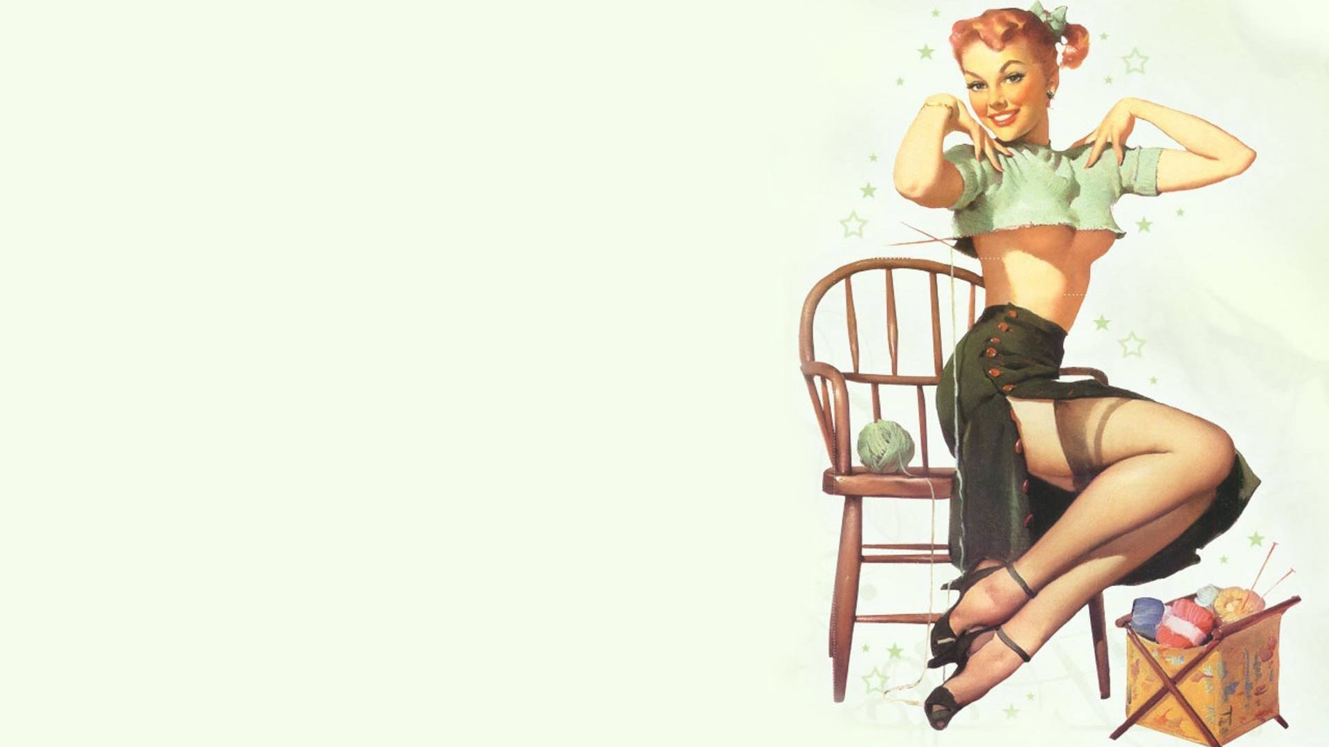 Pin Up Girls Wallpapers (72 Wallpapers)