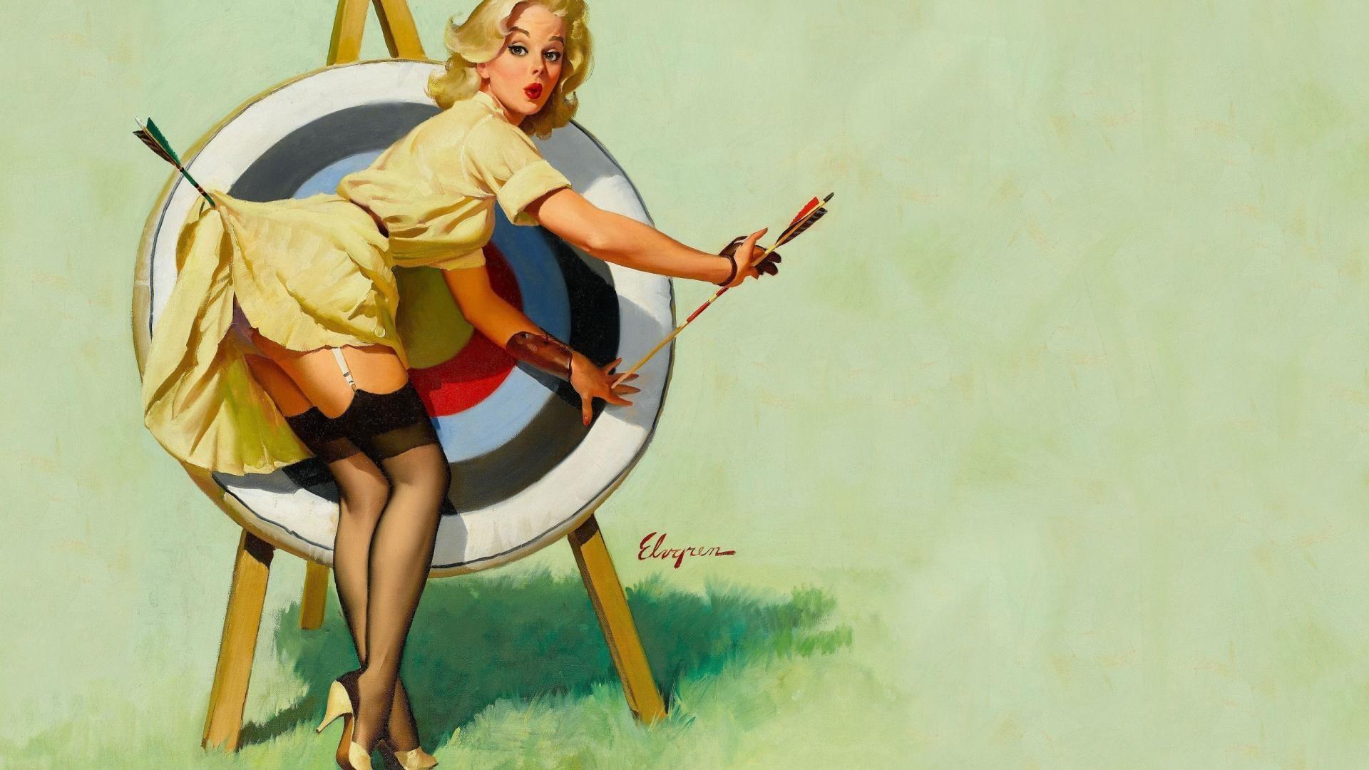wallpaper images pin up girls (Cola Bishop 1920 x 1080)