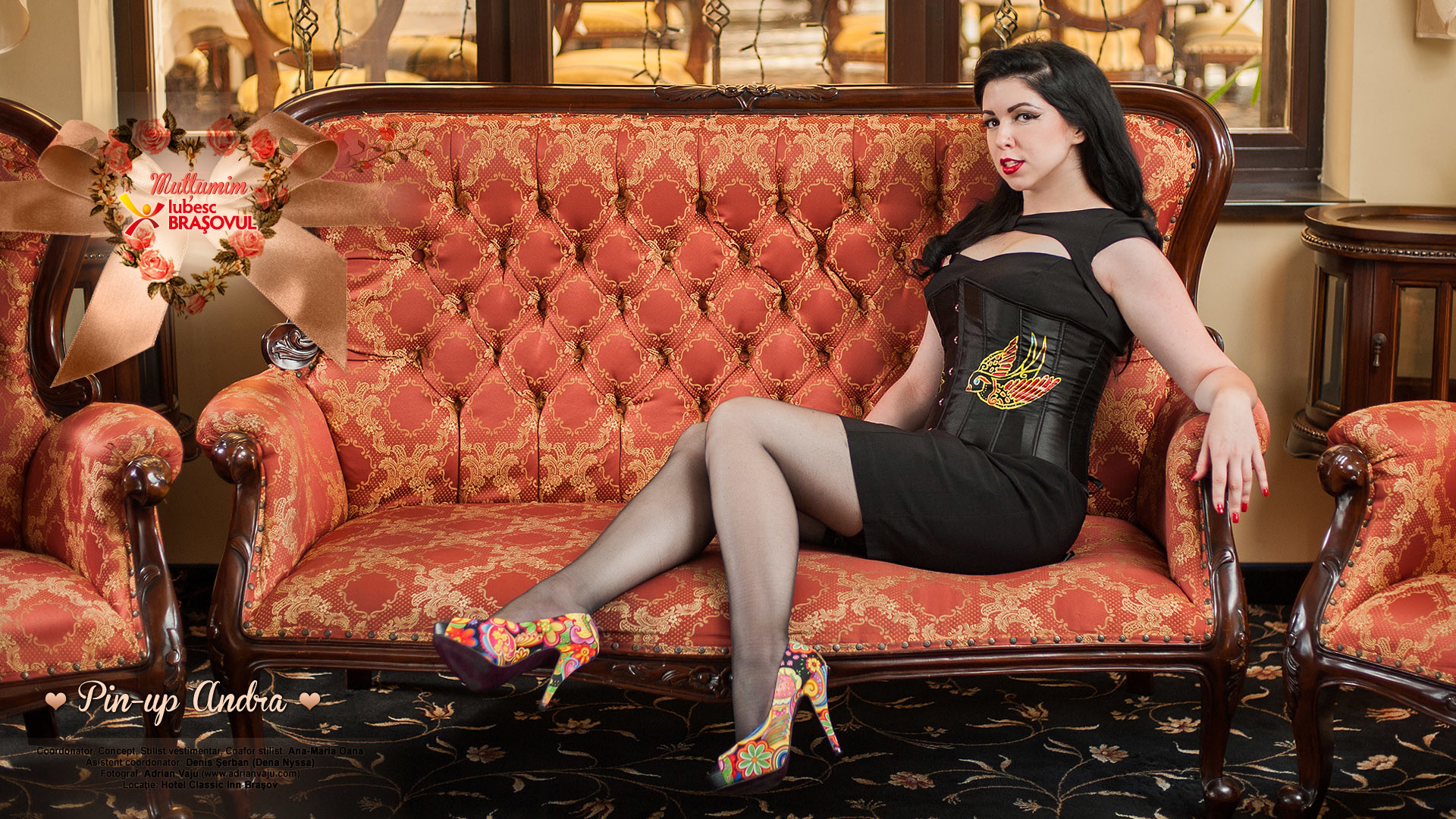 Wallpaper – Pin-up Andra – septembrie 2012