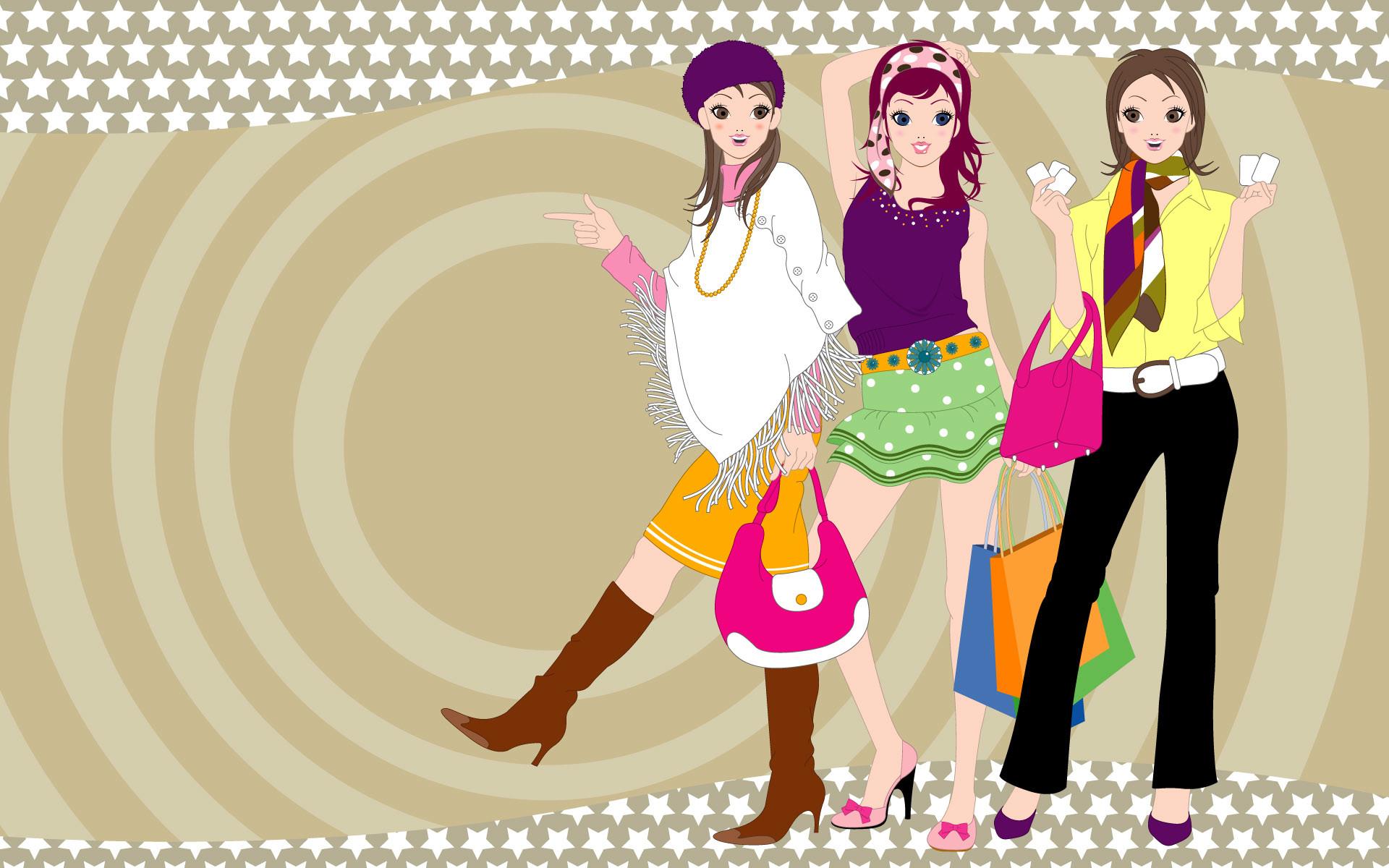 High Resolution Beautiful Fashion of Girls HD Wallpaper .