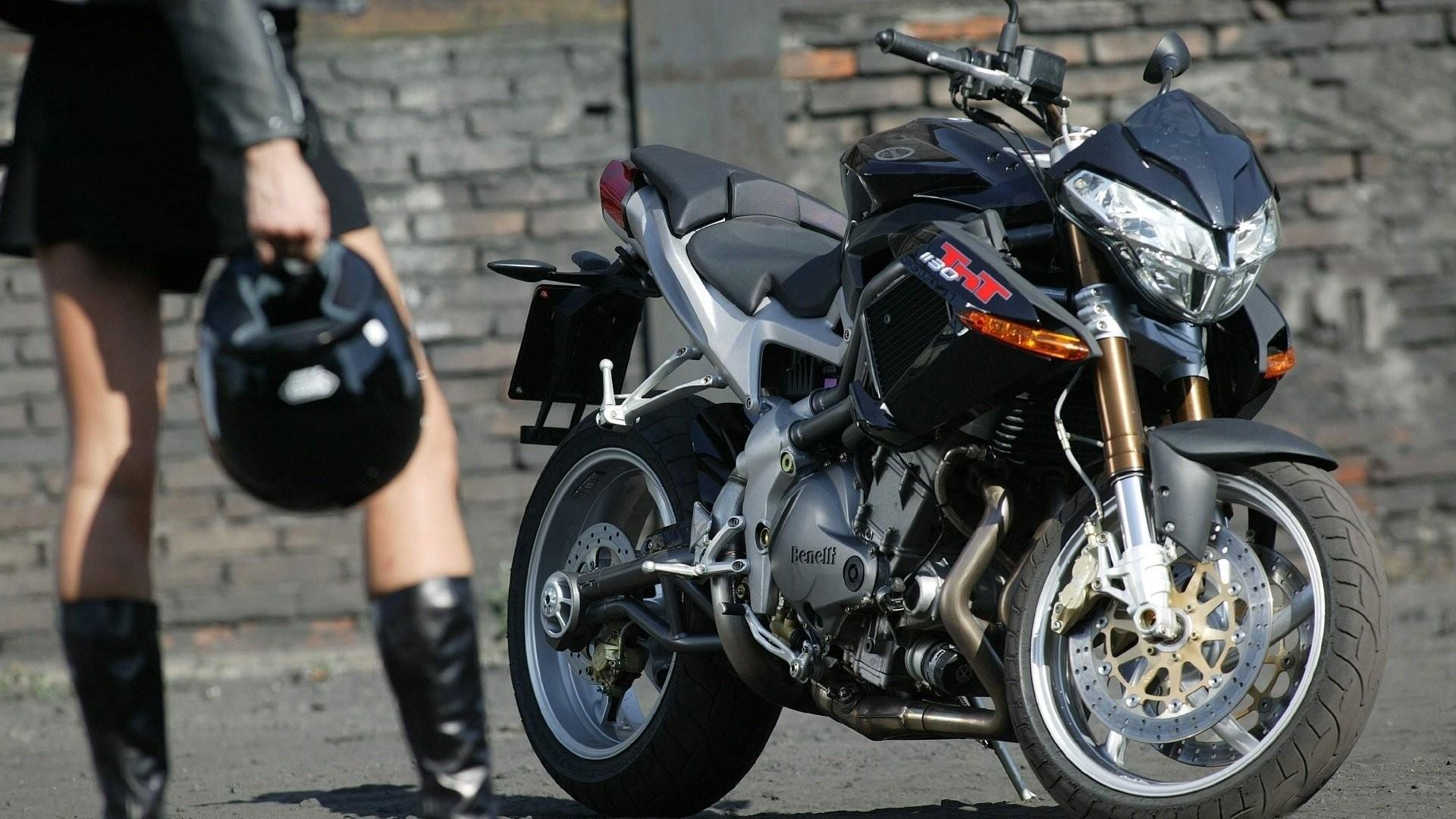 Girl bike motorcycle helmet benelli wallpaper     335962    WallpaperUP