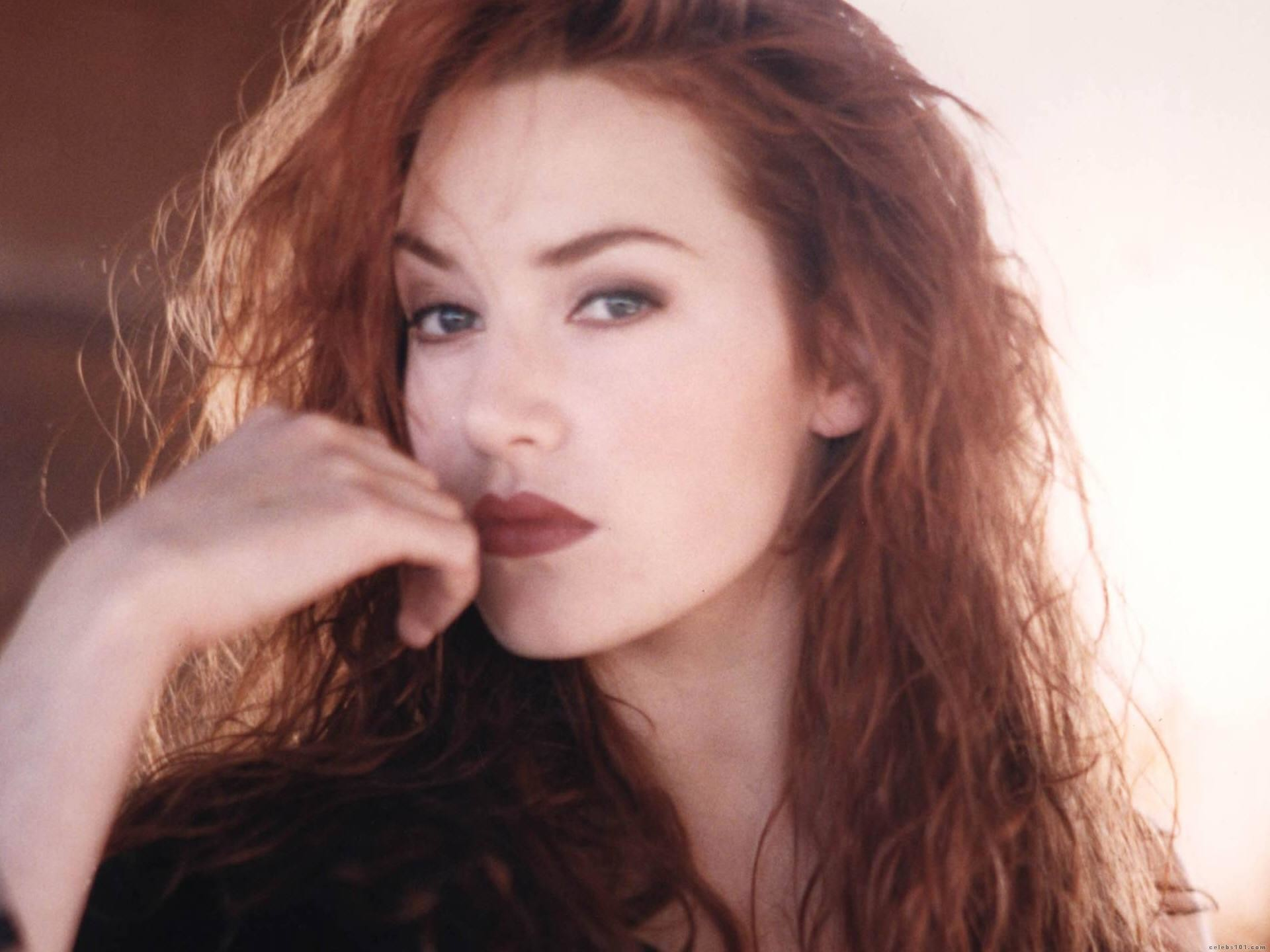 Kate Winslet and her red hair from Titanic