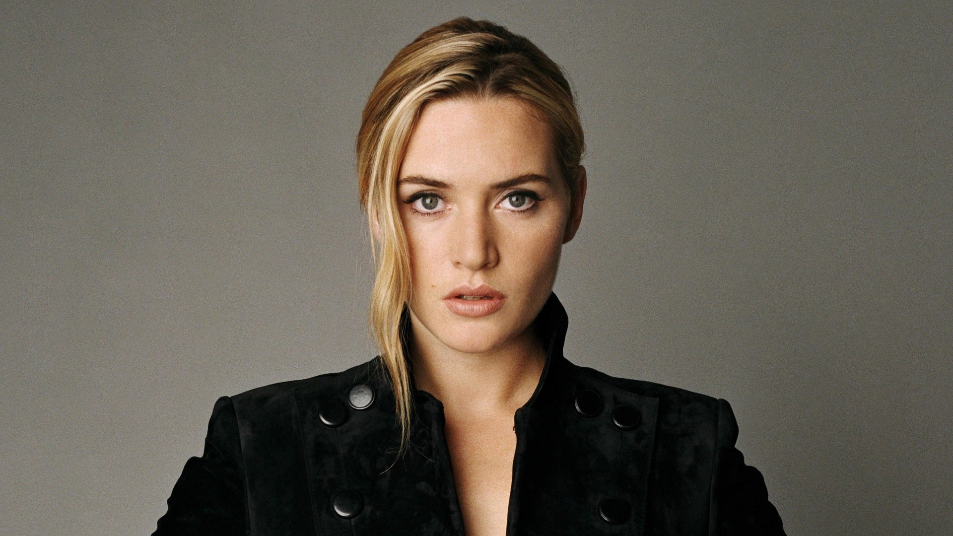 Preview wallpaper kate winslet, actress, blonde, jacket 1920×1080