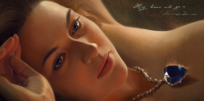 art xiangxiang lu titanic titanic girl rose dewitt bukater kate winslet kate  elizabeth winslet pendant heart