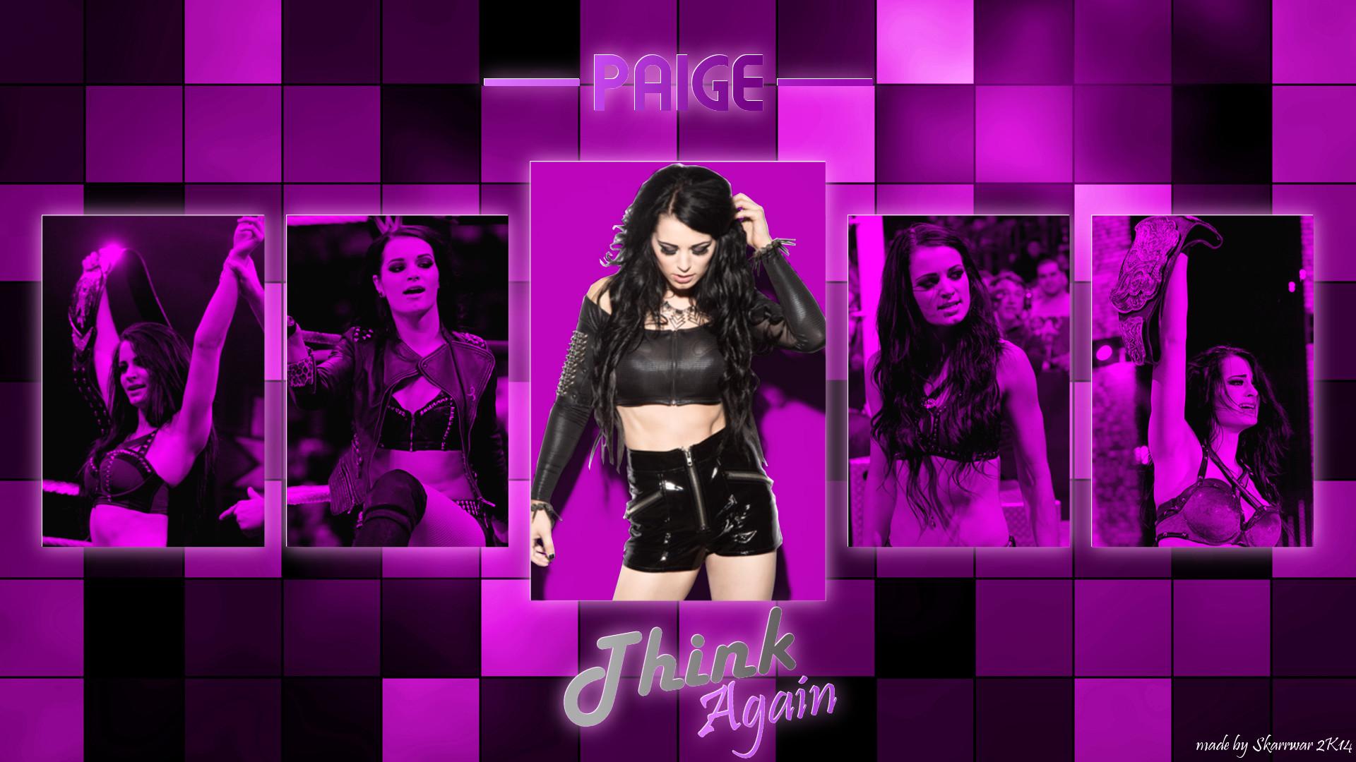 … Paige – Think Again Wallpaper by SkarrDWar