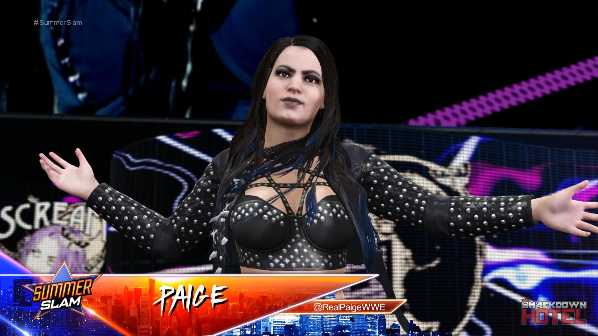 … WWE2K17-Paige2 WWE2K17-Paige