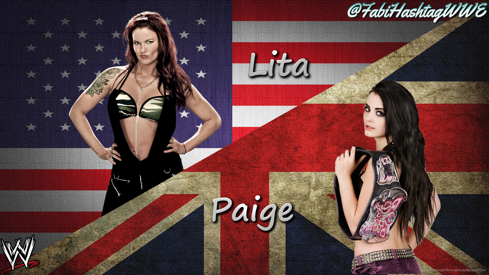 … Lita vs Paige – Dream Match by Fabian-Winchester