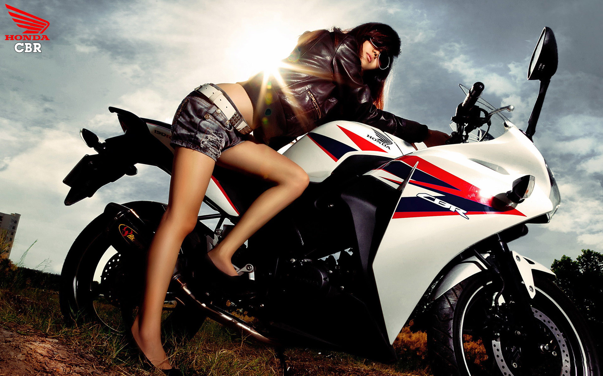 iPhone Wallpaper Girls On Motorcycles