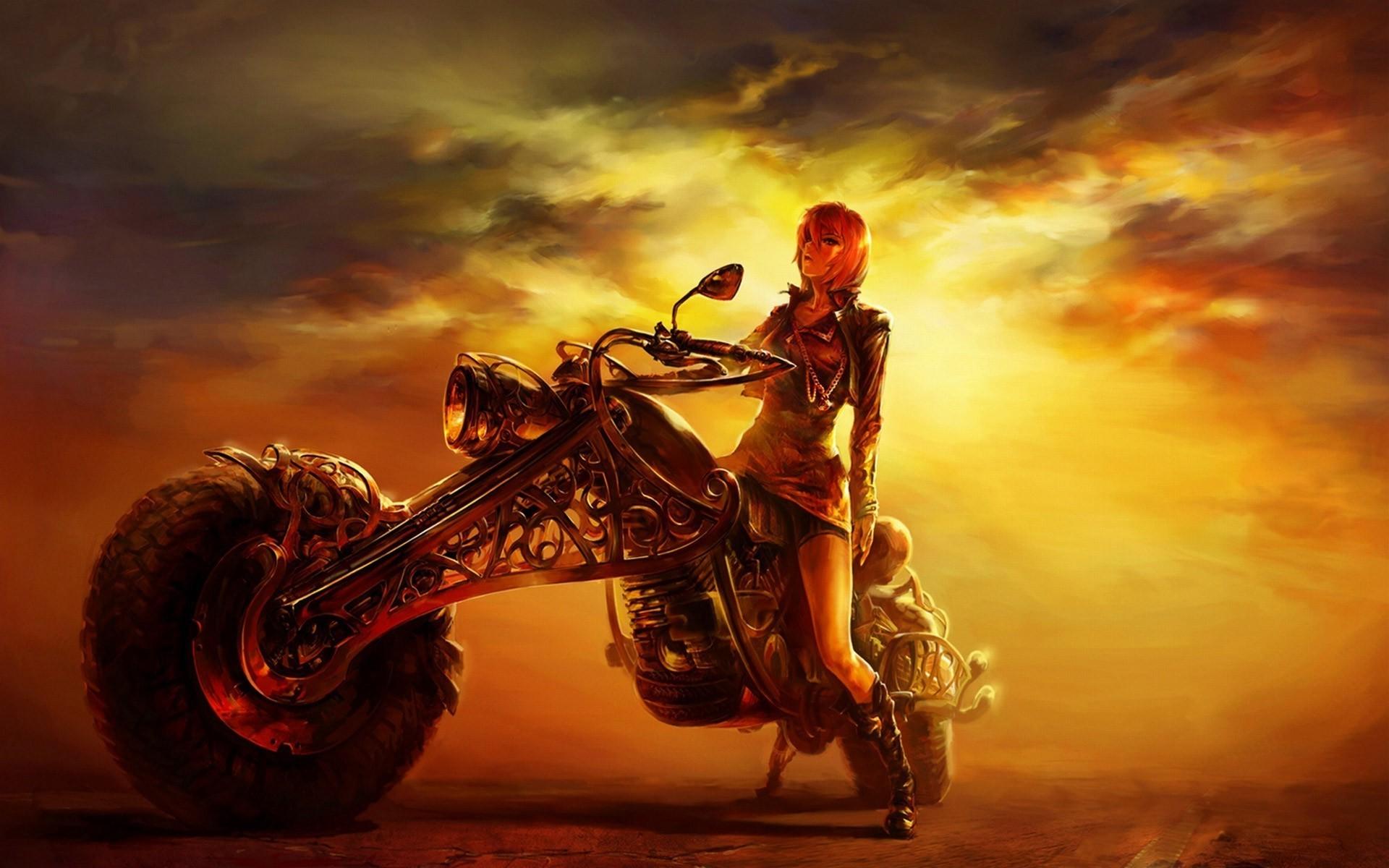 Bikes & Girls wallpapers | Motorcycle Girl | Pinterest | Girl wallpaper and  Biker chick