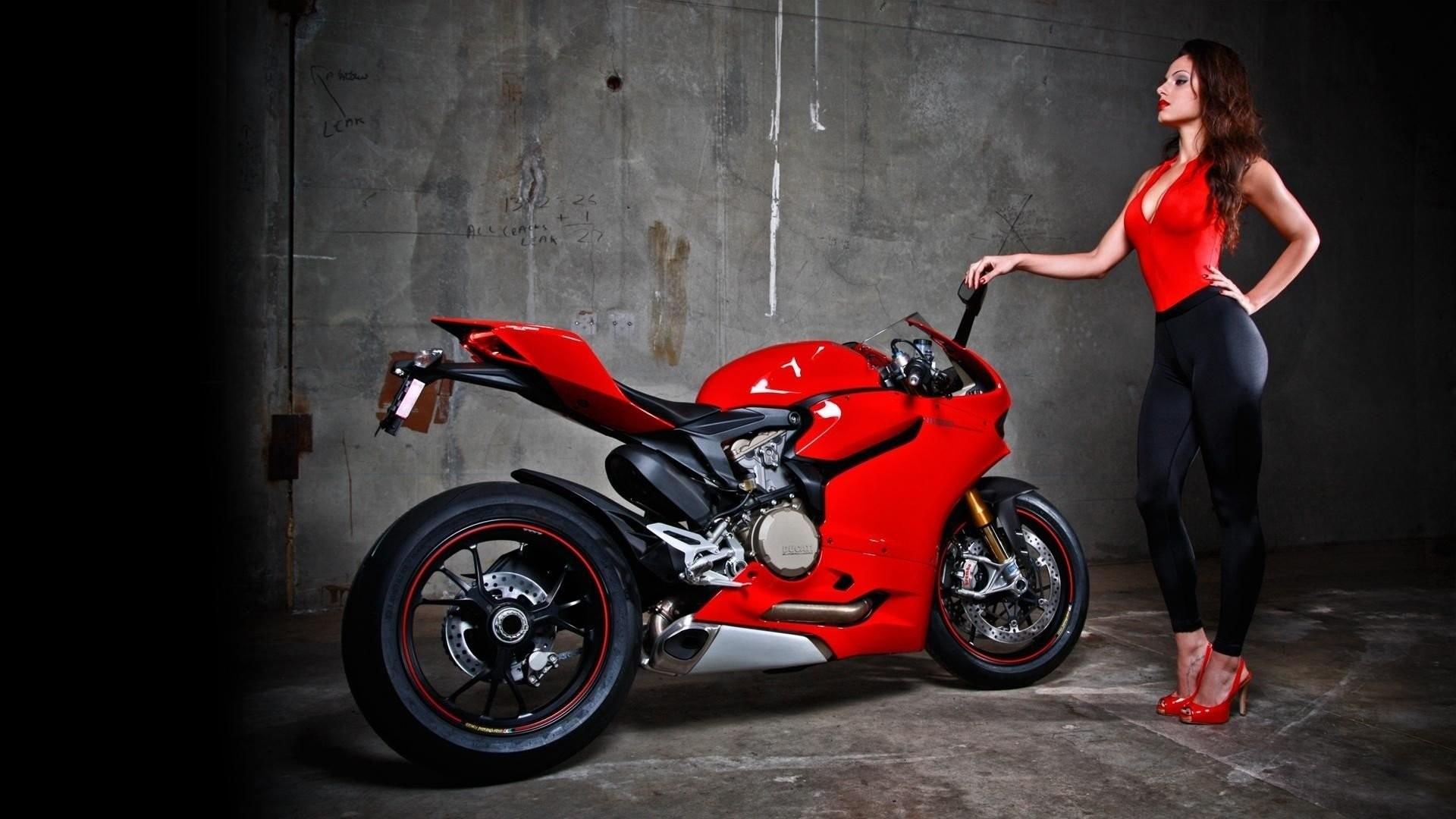HD Wallpaper | Background ID:293792. Women Girls & Motorcycles.  13 Like
