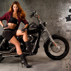 Girls on Motorcycles