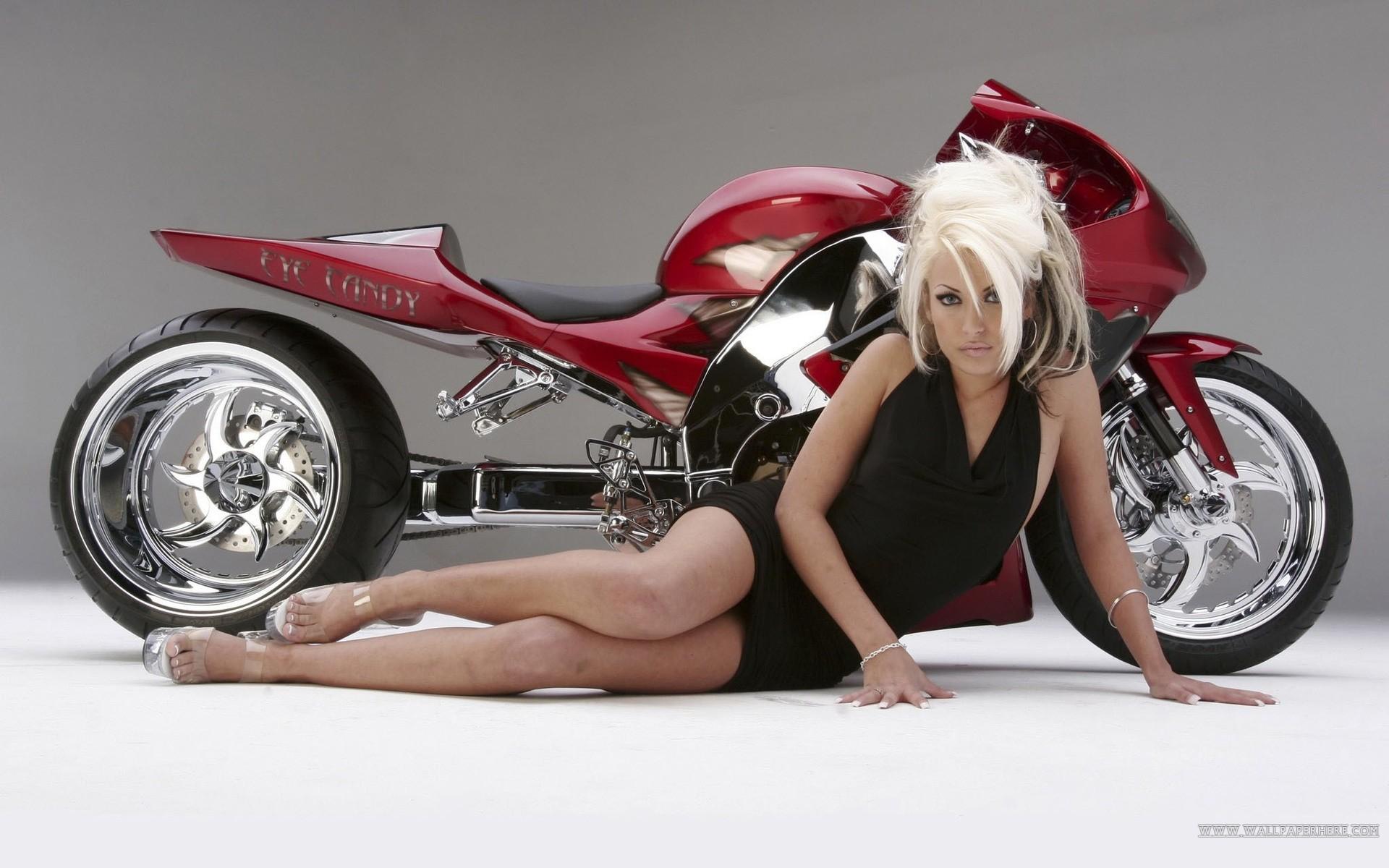 hot women motorcycles wallpaper | hot girls and motorcycle wallpaper