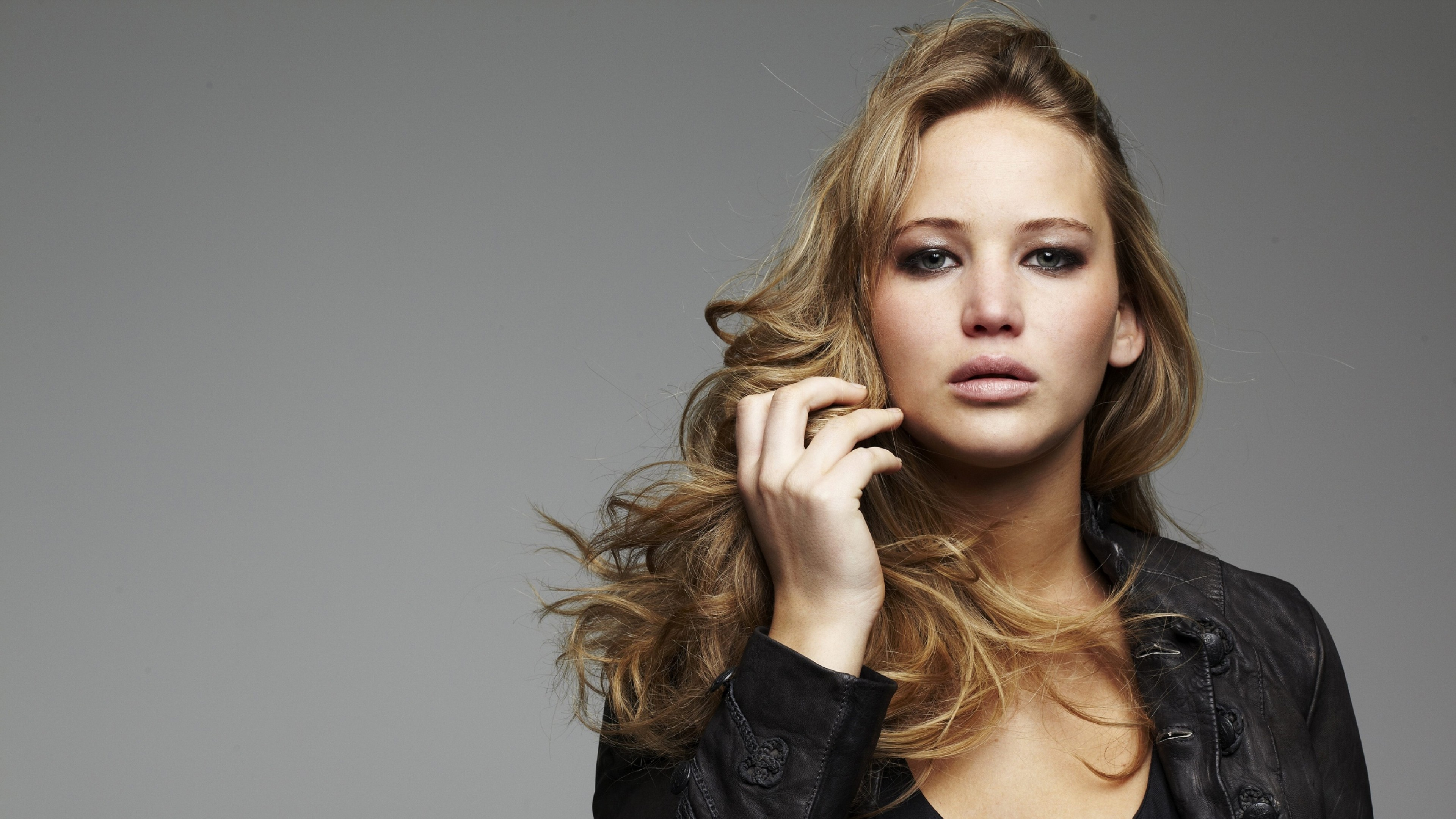 Preview wallpaper jennifer lawrence, actress, blonde 3840×2160