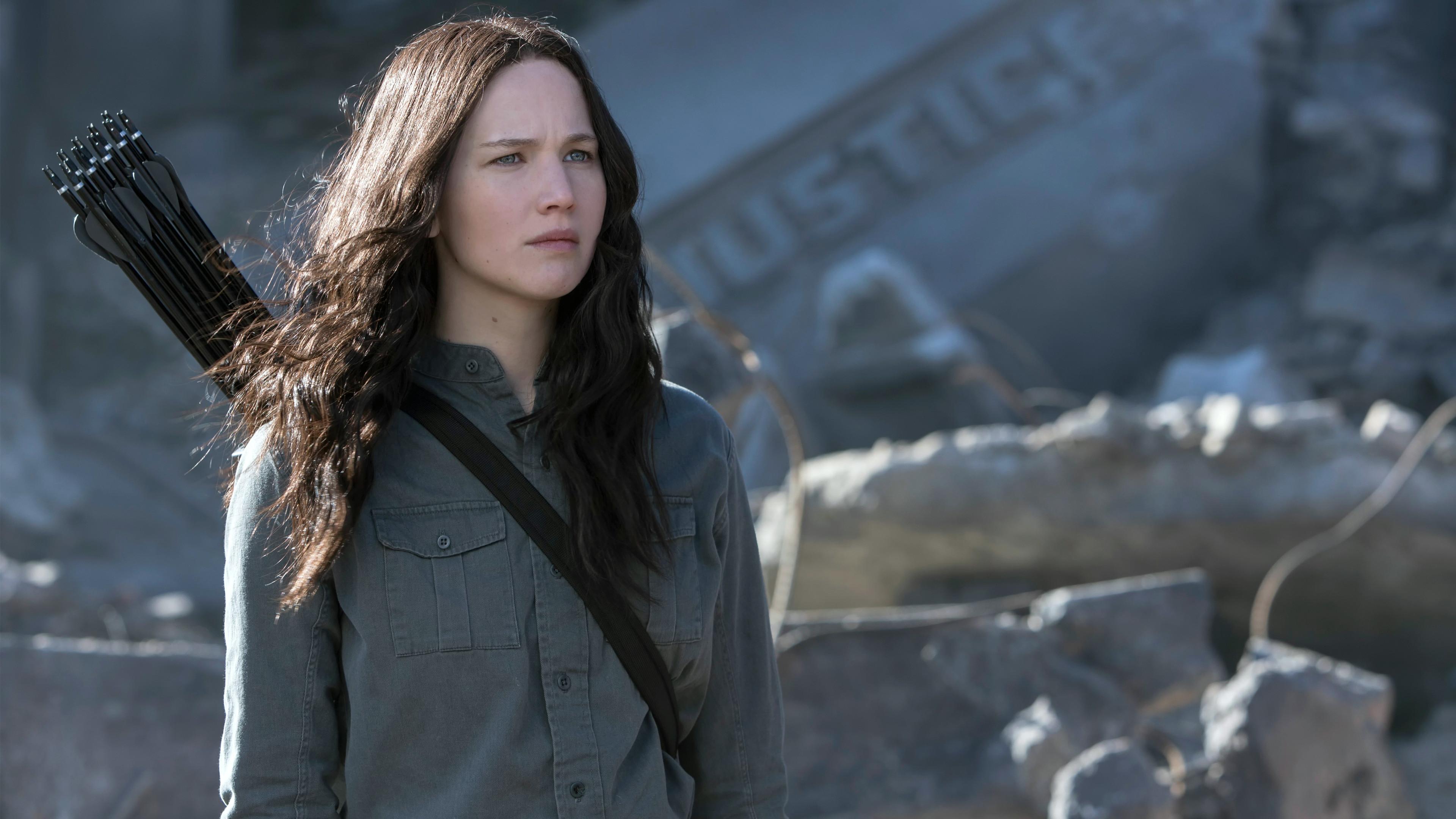 Hunger Games Katniss Jennifer Lawrence