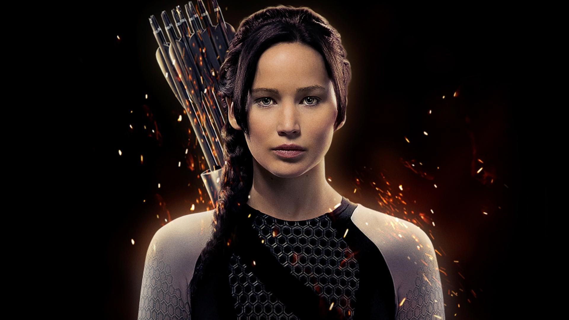 Jennifer Lawrence as Katniss Wallpapers