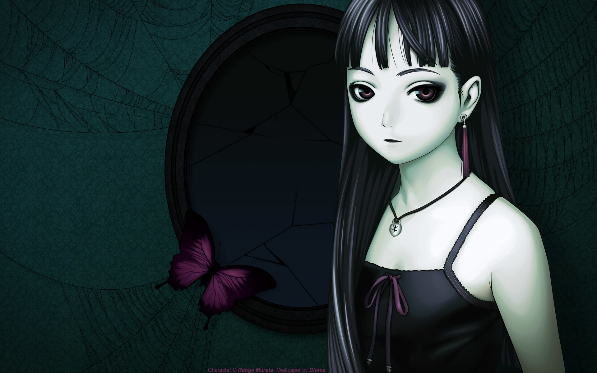 Download Anime Goth Girl Wallpaper | Full HD Wallpapers