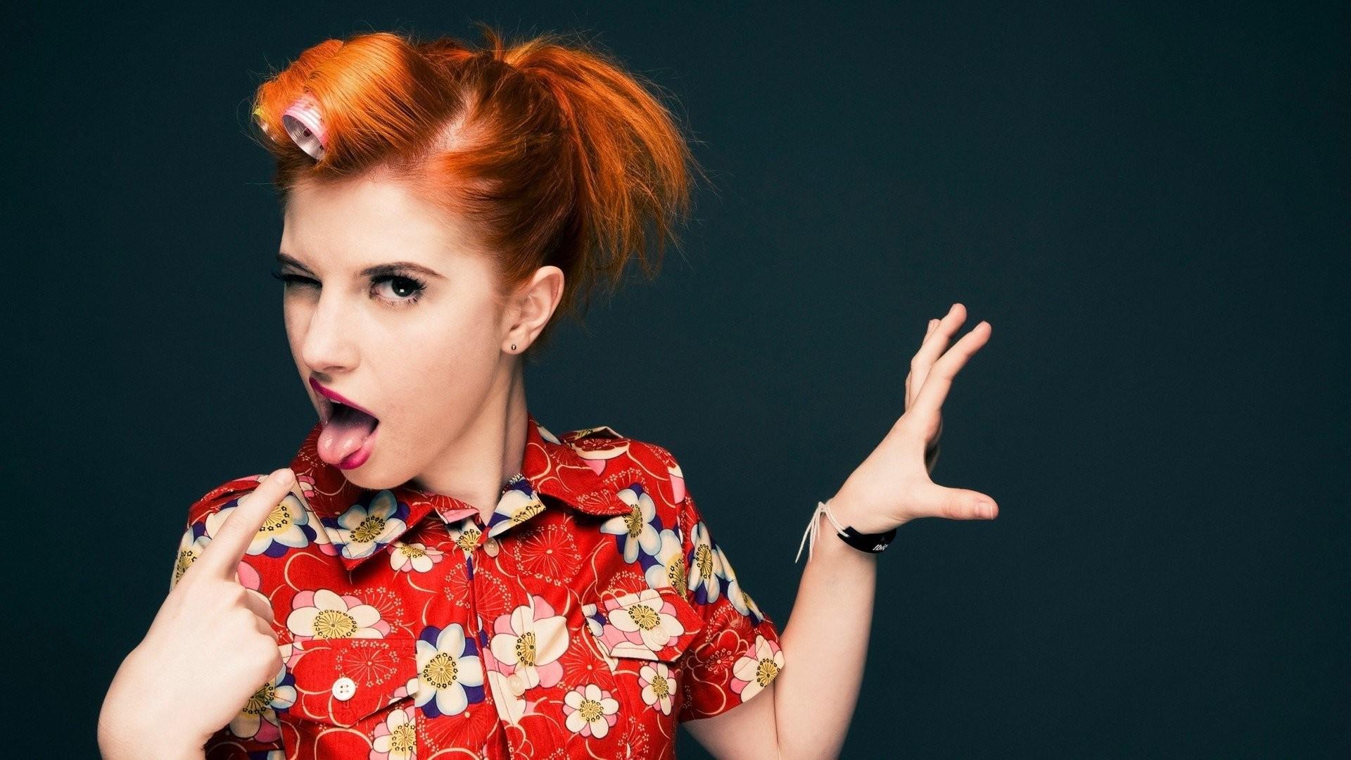 hayley williams paramore women music redheads pop emo singers alternative  punk rock