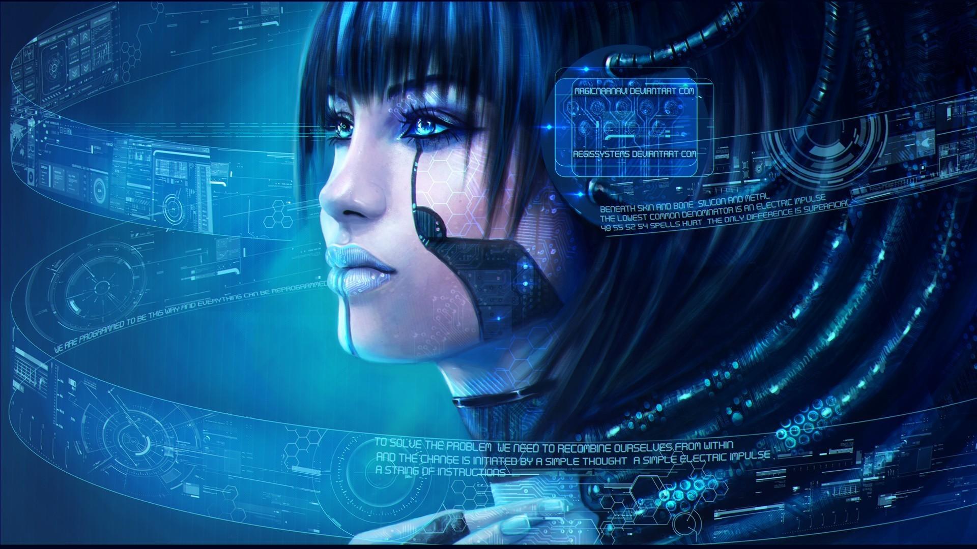 Cyberpunk-Digital-Art-wallpaper-8.jpg 1,920×1,080 pixels · Cyberpunk GirlCyber  PunkSci …
