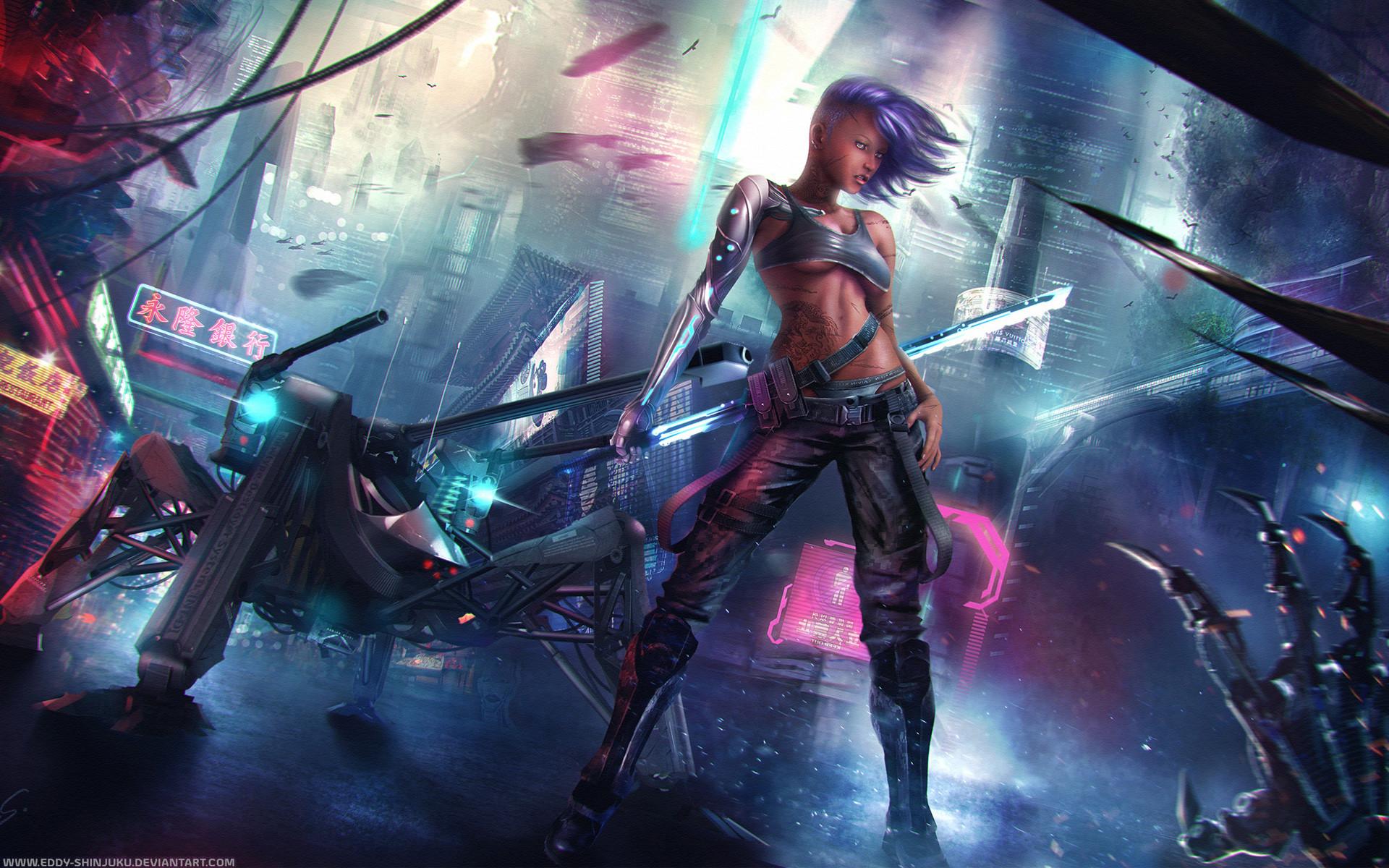Beautiful Cyberpunk Wallpaper