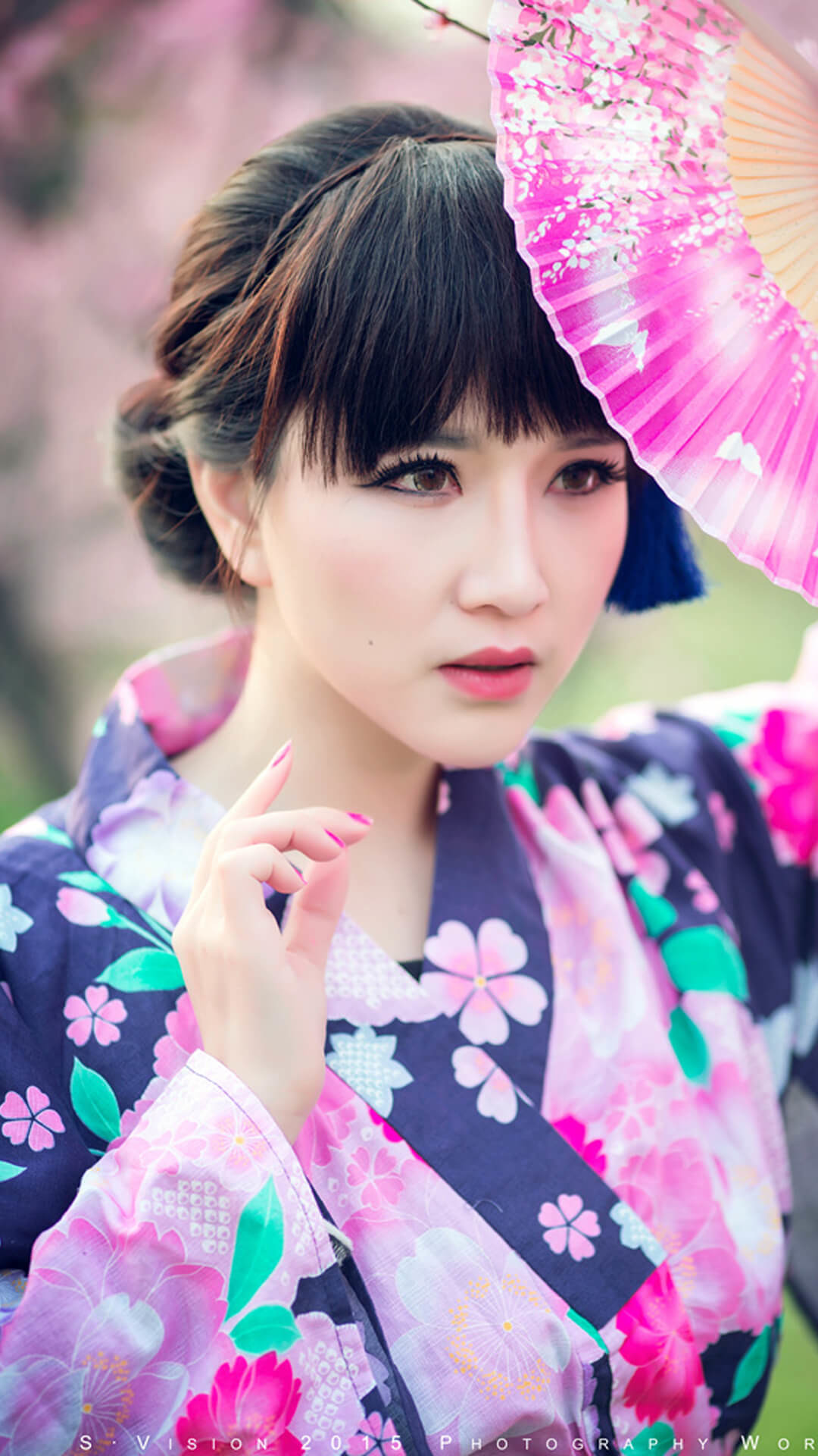 Hot Japanese Culture Girl iPhone Wallpaper. Download