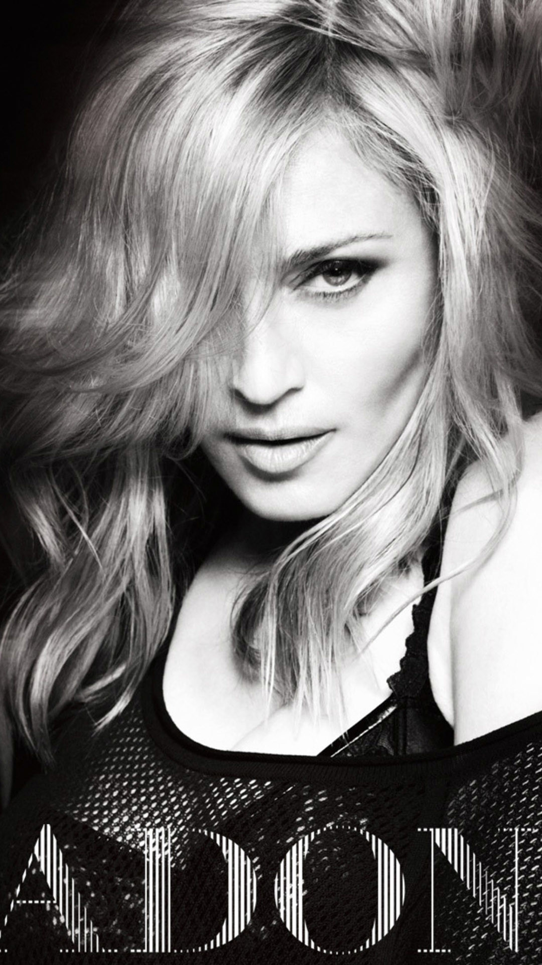 Madonna Black And White iPhone 6 Plus HD Wallpaper …