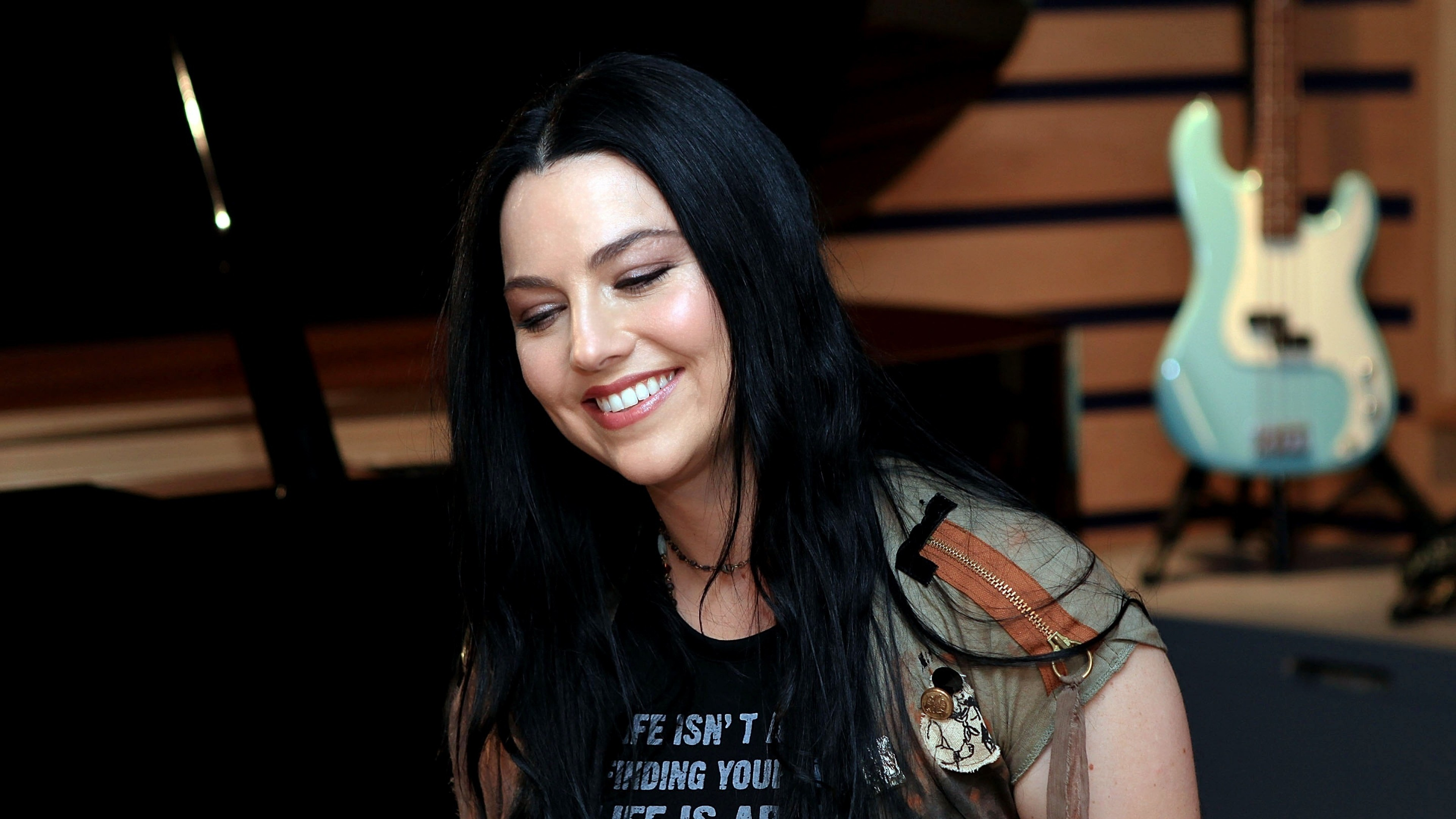 Preview wallpaper amy lee, evanescence, singer 3840×2160