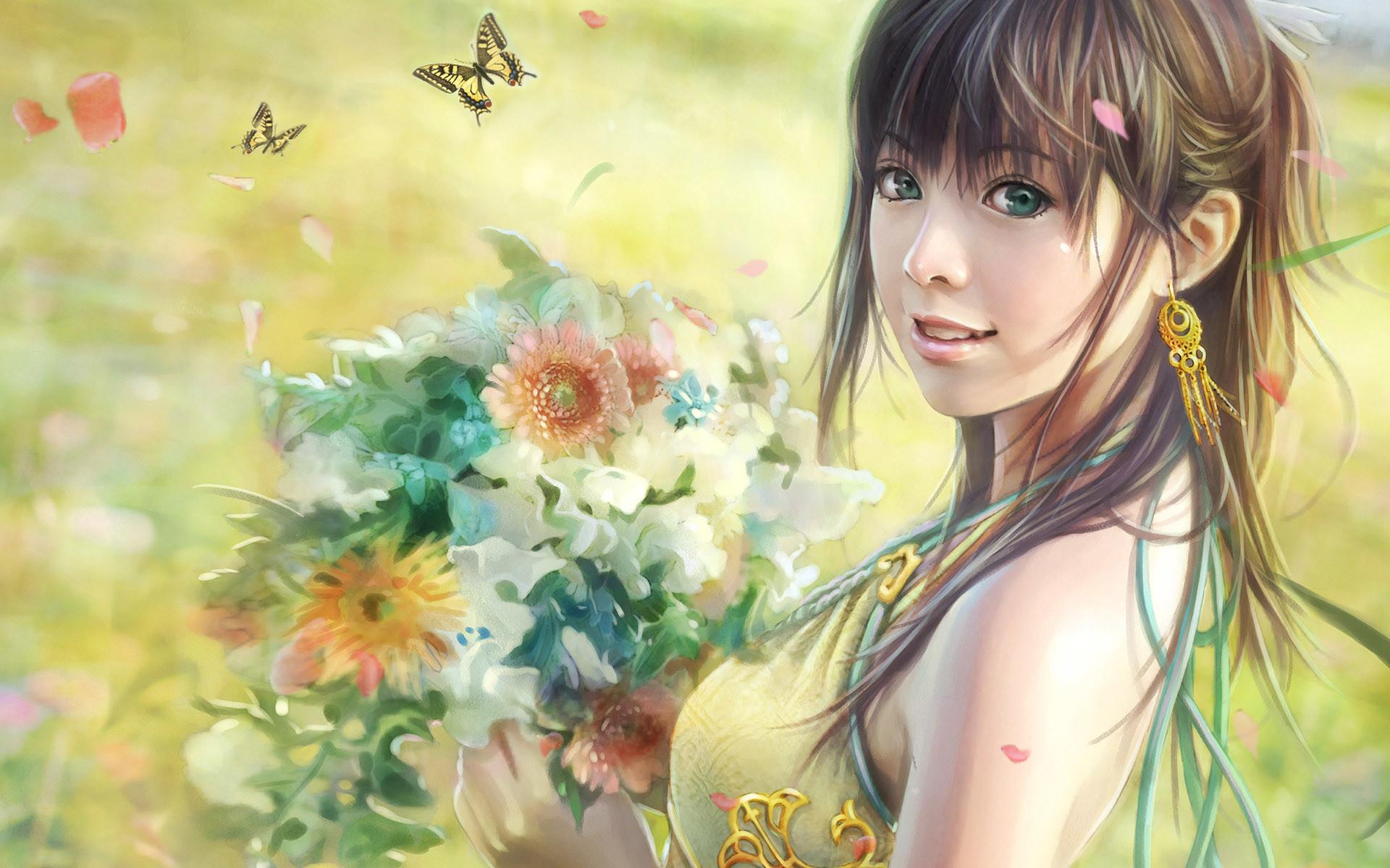 Free CG beautiful girl wallpaper Wallpapers – HD Wallpapers 81317