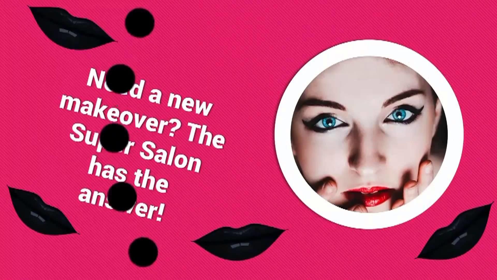 hair and beauty salon video marketing by 4TBIZ Digital Agency