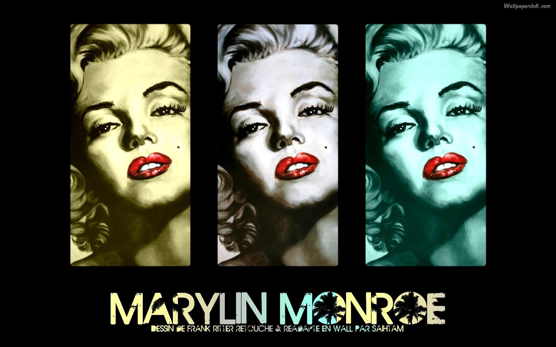 Marilyn Monroe Wallpaper Hd Wallpaper