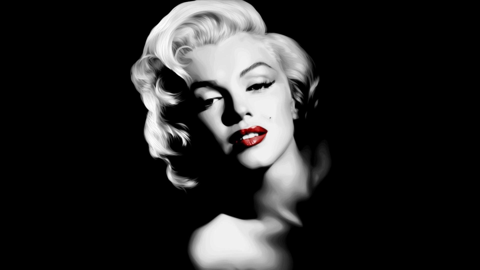 Marilyn Monroe Poster Black And White Image Tips
