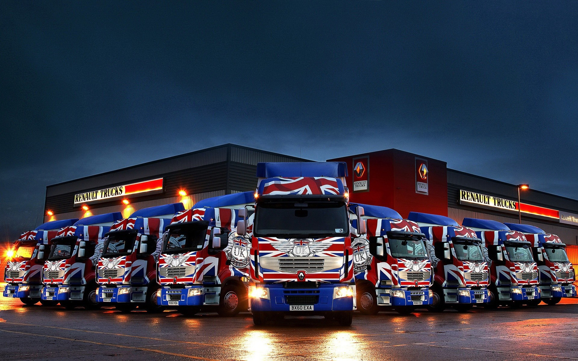 Girls And Trucks Wallpapers Renault trucks wallpapers