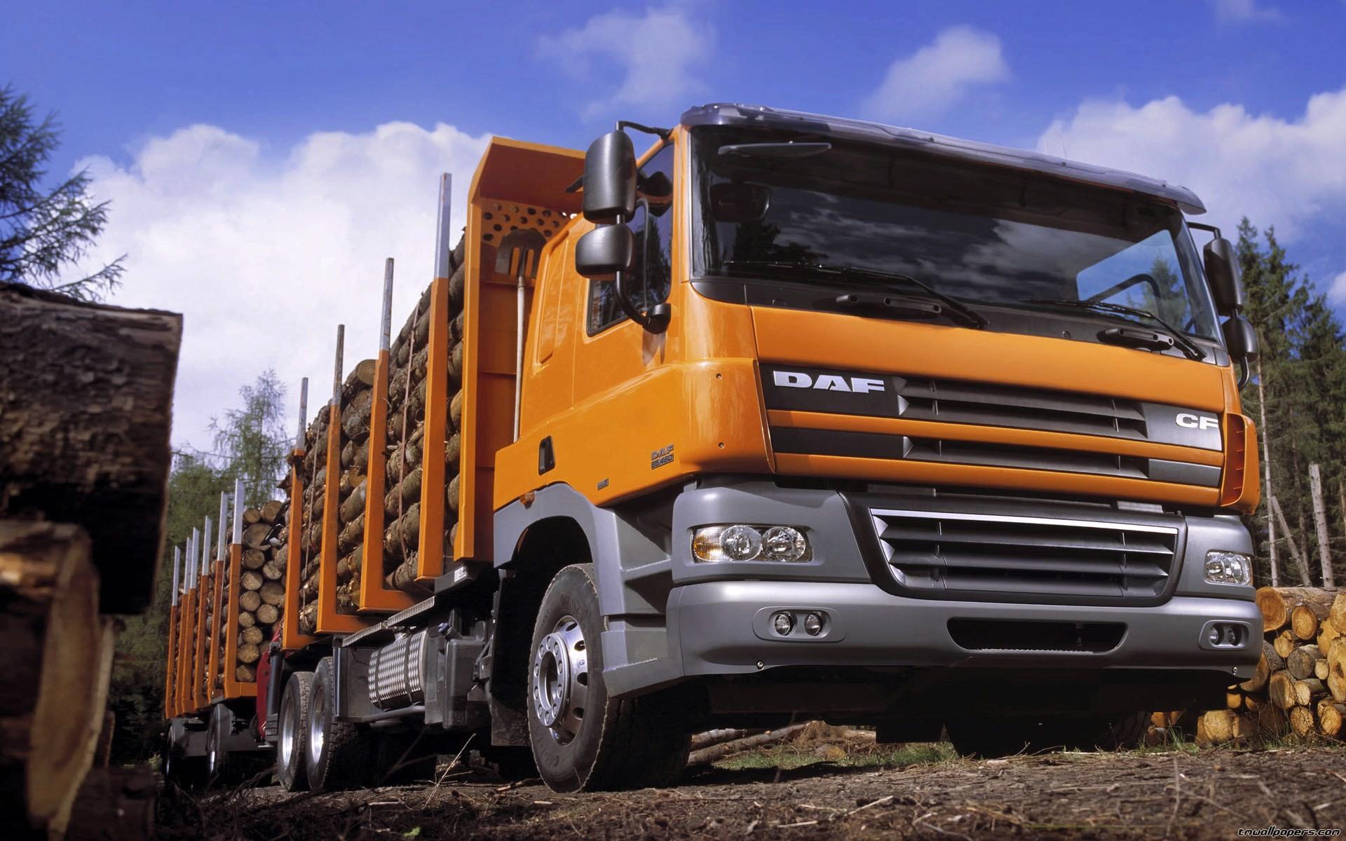 Wide wallpapers Trucks