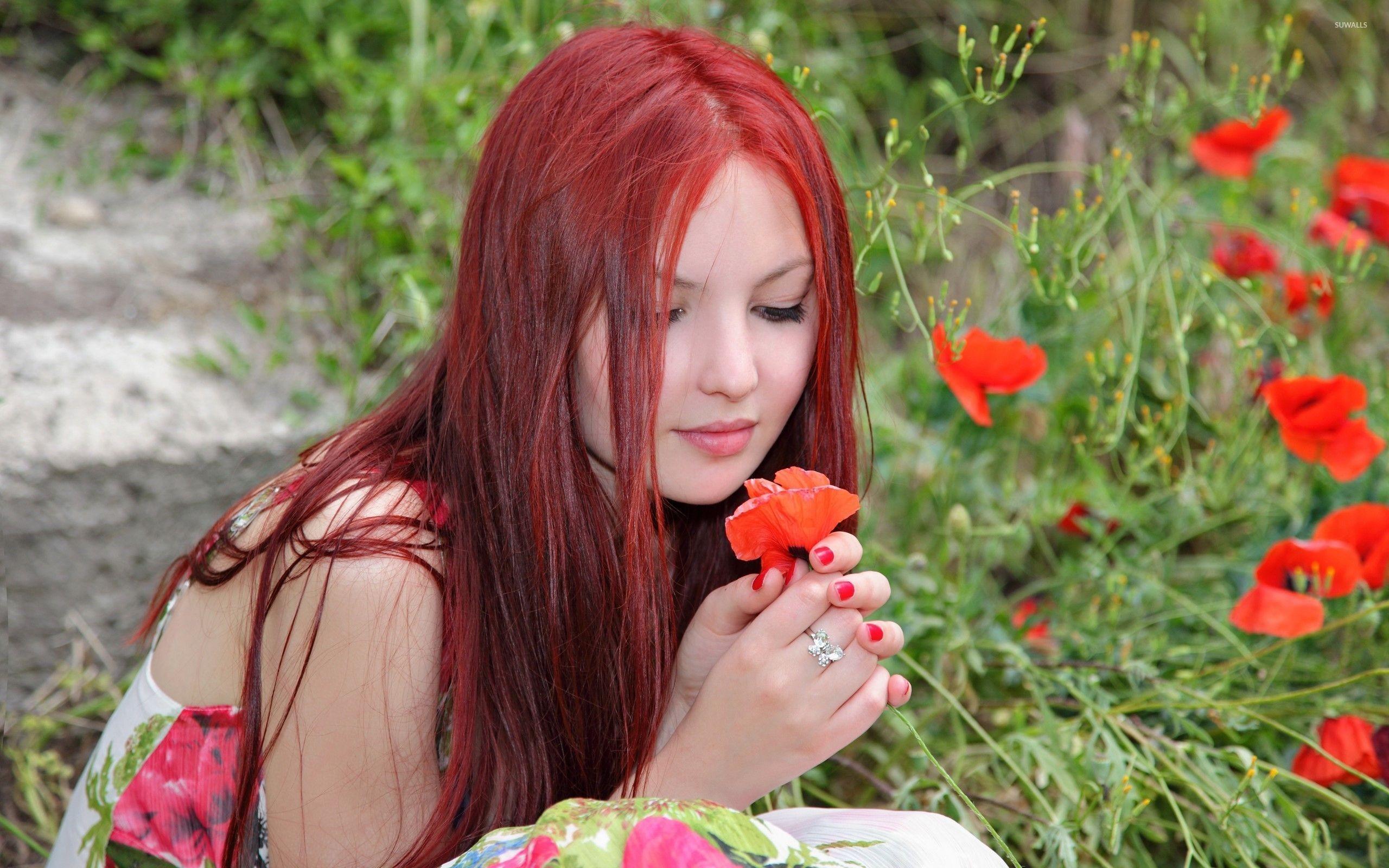Redhead wallpaper jpg