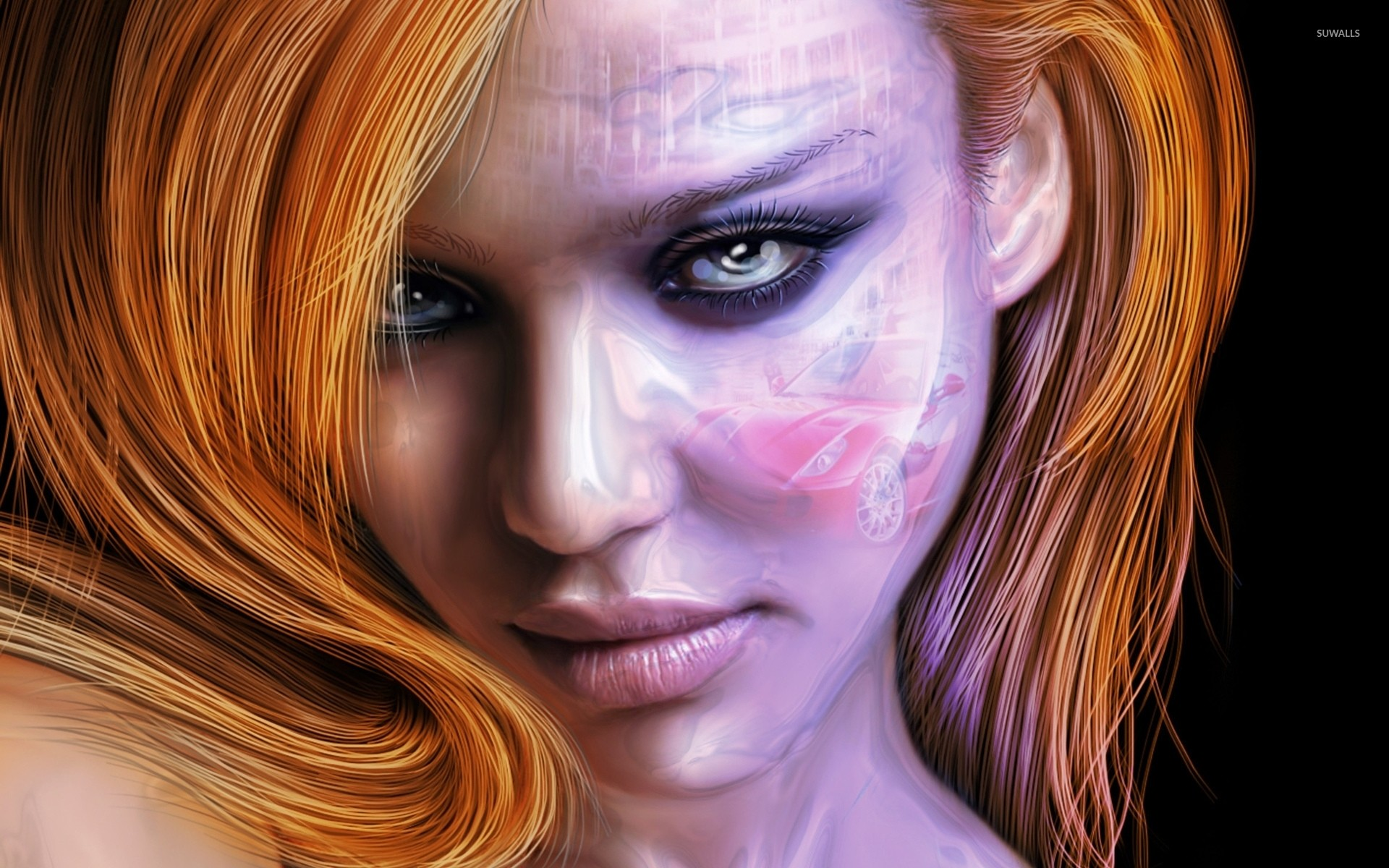 Redhead beauty wallpaper jpg