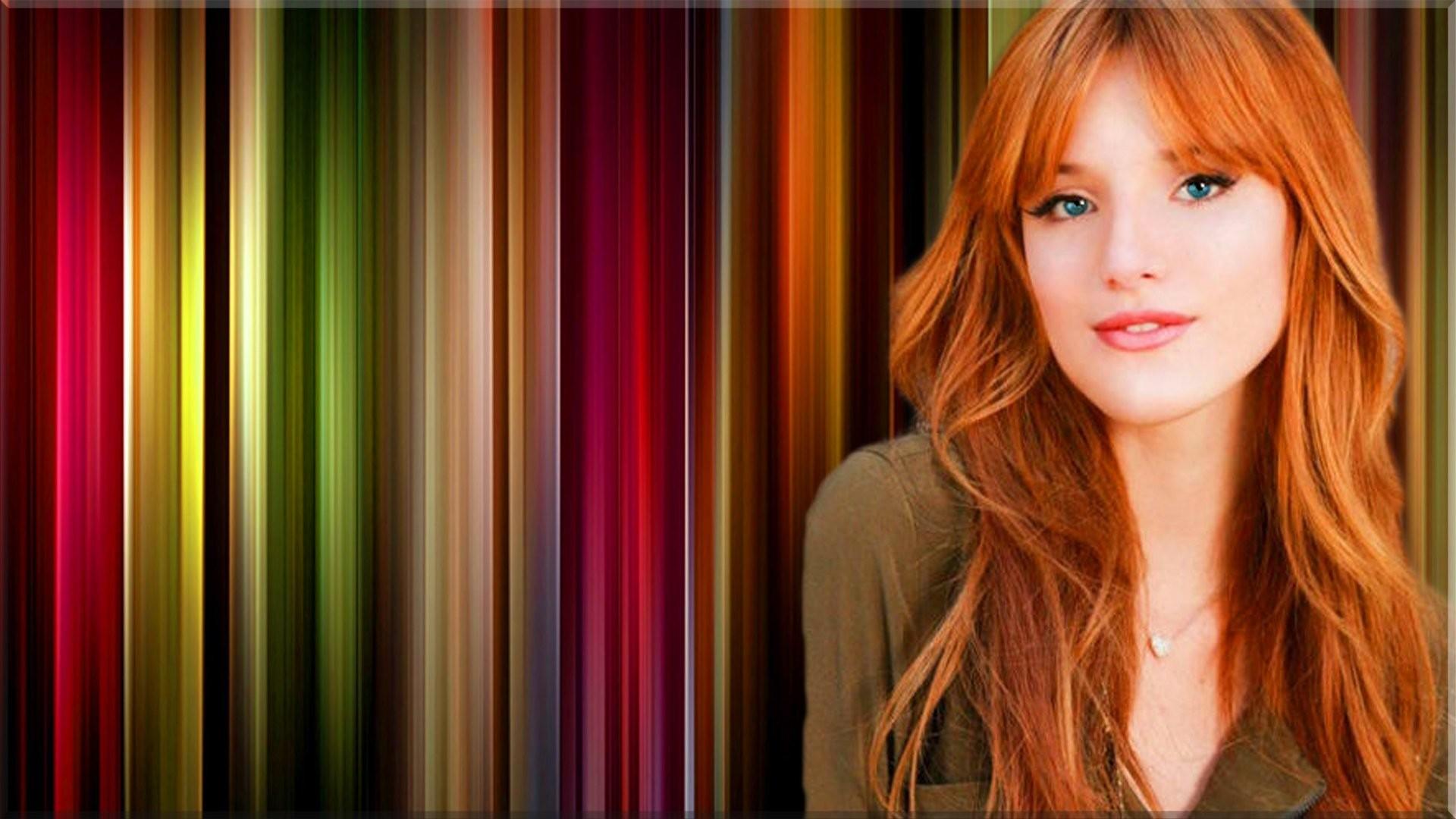 Celebrity – Bella Thorne Redhead Woman Wallpaper
