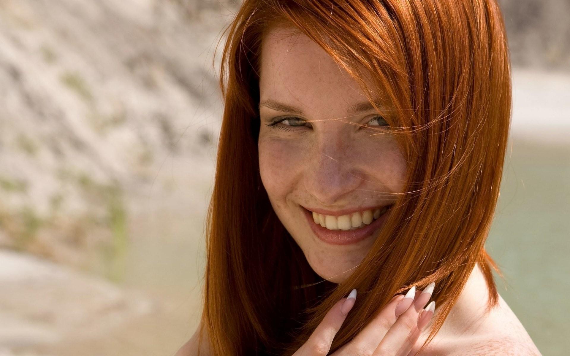 Women – Face Redhead Wallpaper