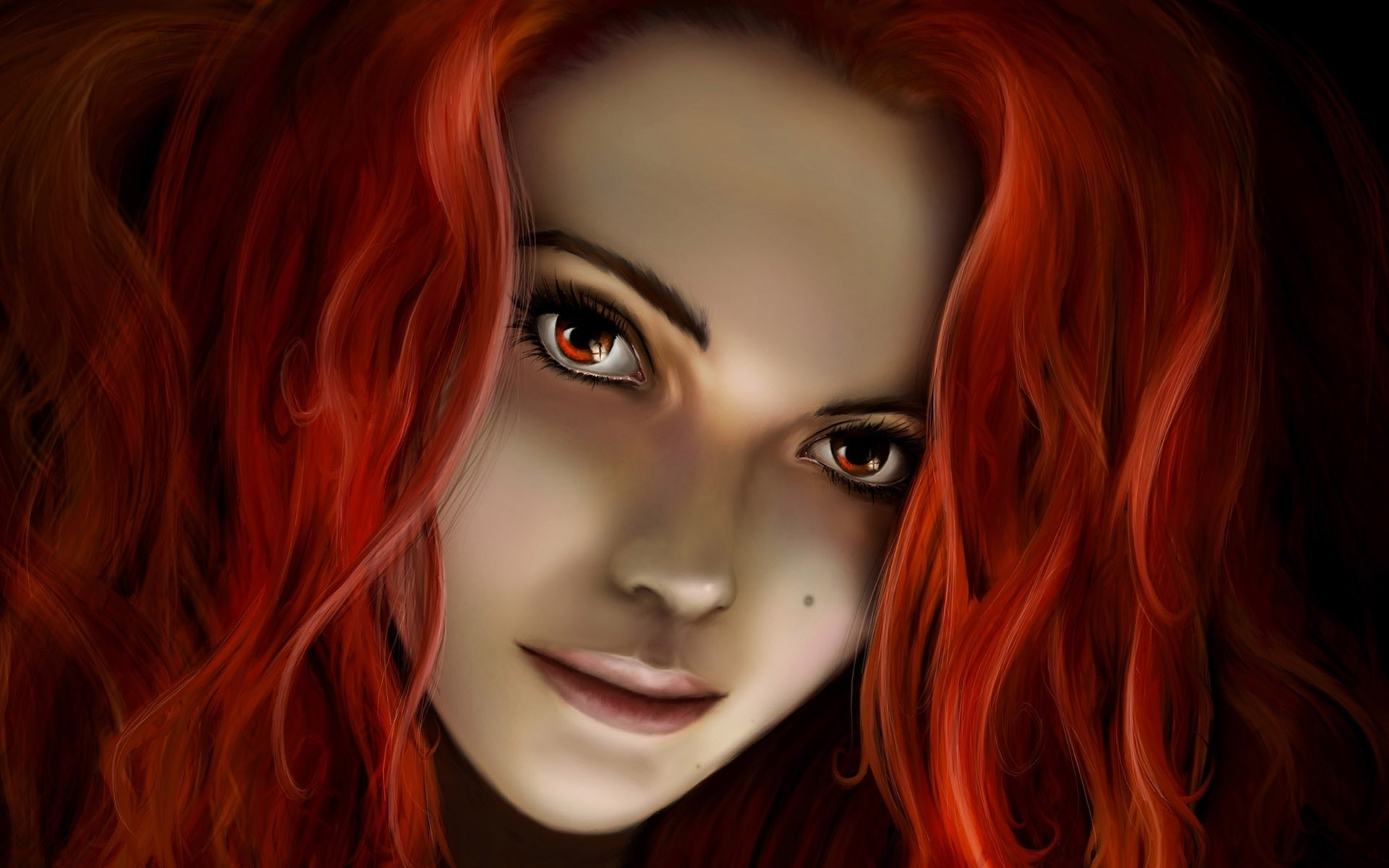 Fantasy girl – Redhead wallpapers and stock photos