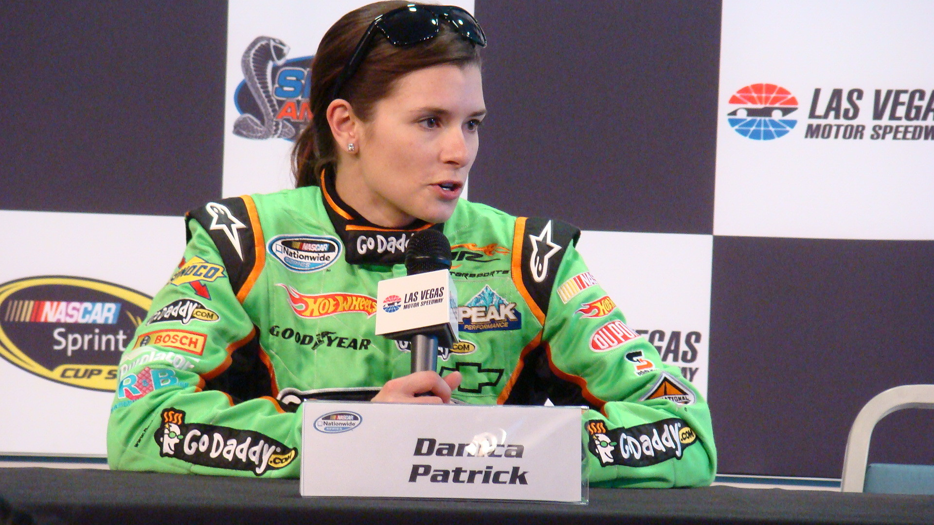 Patrick will be driving the GoDaddy.com Chevrolet from JR Motorsports