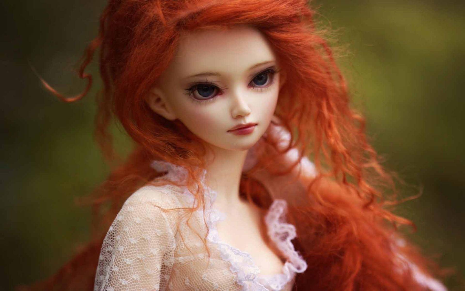 Girl Doll Redhead Toy Wallpaper   HD Anime Wallpaper Free Download …