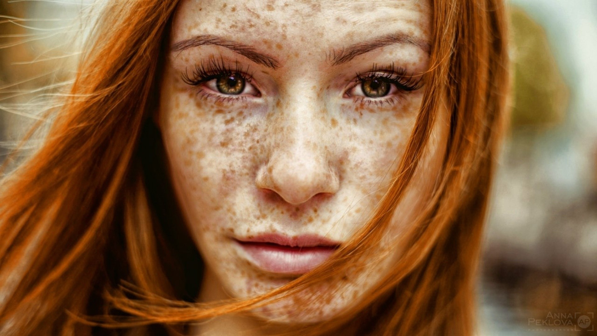 Freckled girl wallpapers and images