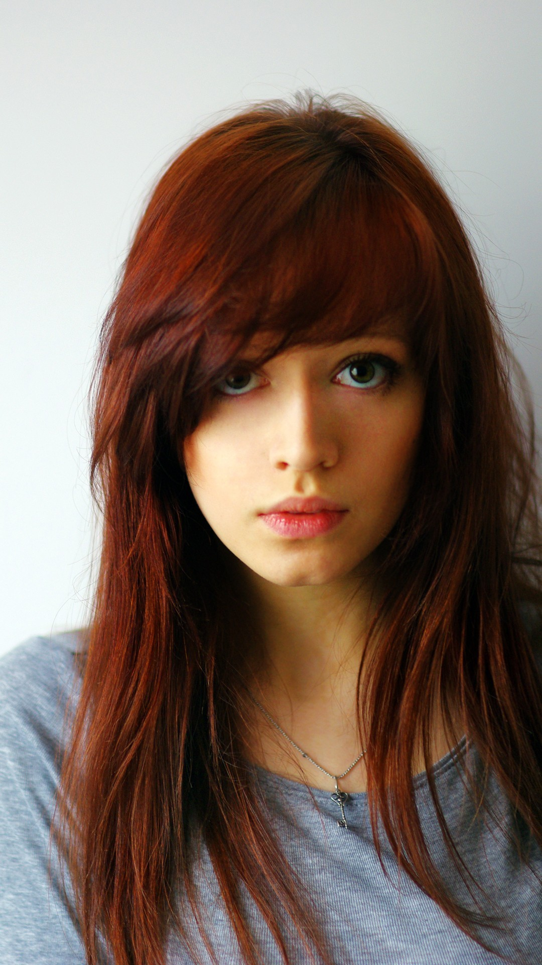 … Gorgeous redhead Girl mobile wallpaper